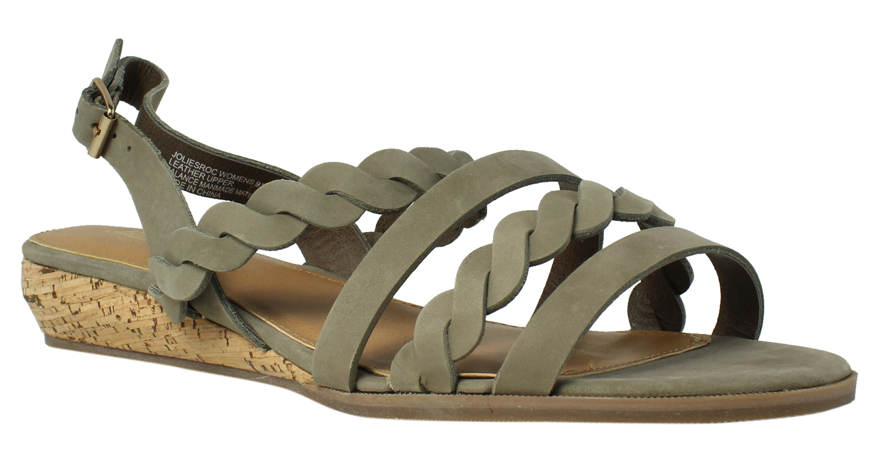 3e25825799 G.H. Bass & Co. Womens Jolie Searock Strappy Sandals Size 9.5 Wide (C,