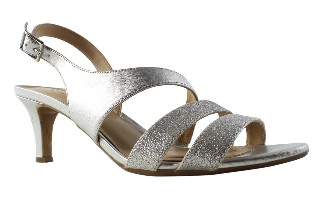 7e0adecb3c11 Buy Naturalizer Womens Taimi Silver Sandals Size 8.5 (292470) online ...