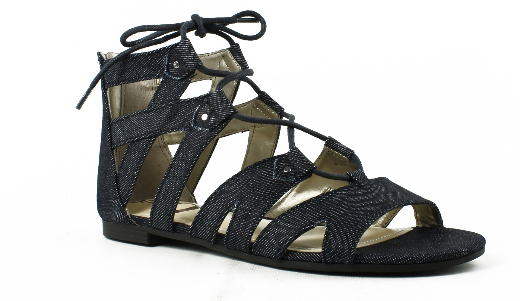 16612fb2a Image is loading Circus-by-Sam-Edelman-Womens-E8211f3-DarkNavy-Gladiator-
