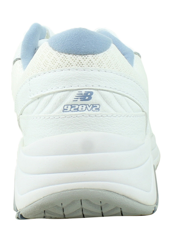 Fashionable New Balance Womens In White/blue Walking Shoes Size 6.5 Style; 350885