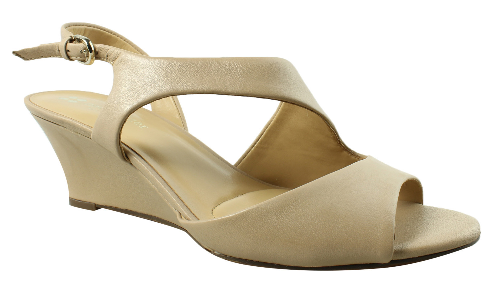 8bae487226a1 Image is loading Naturalizer-Womens-Brown-Ankle-Strap-Heels-Size-8-