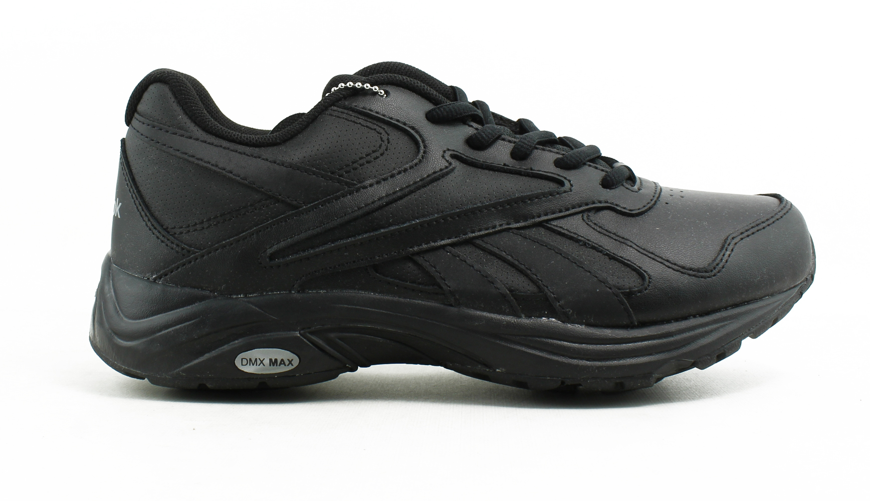 565696a97e30 Reebok Mens Walk Ultra V Dmx Max Black Walking Shoes Size 6.5 (425136)
