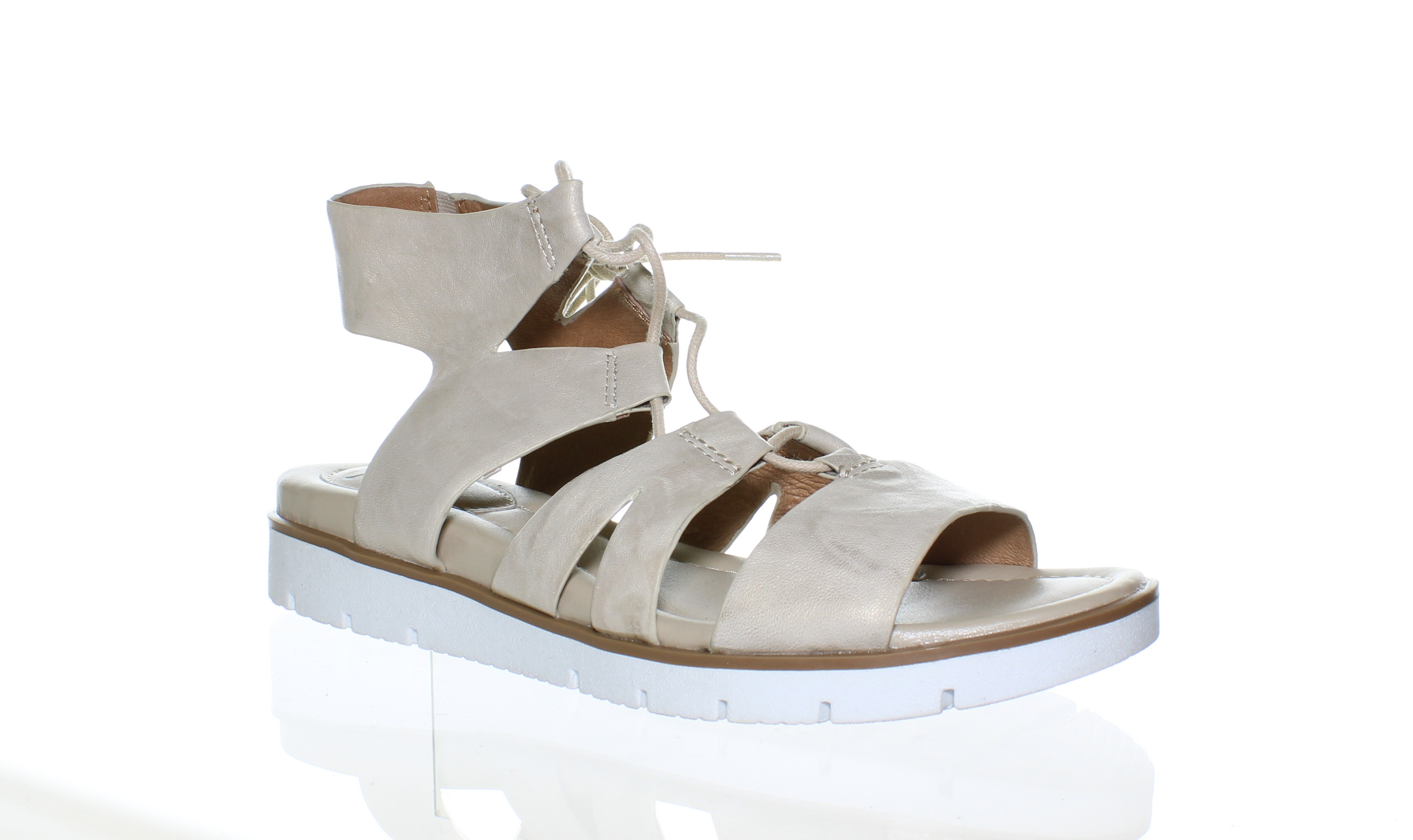 2a203fbd54f Sofft Womens Madera Light Grey Sandals Size 8 (104315)