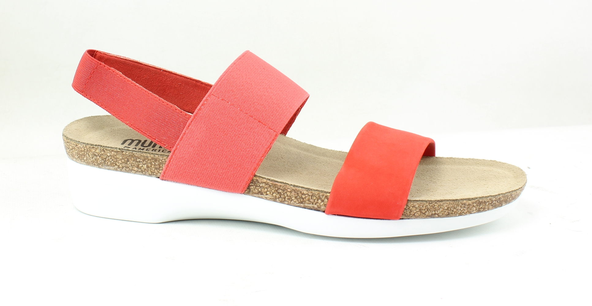 d4068694d6cd Munro Womens Pisces Red Ankle Strap Flats Size 7 (AA