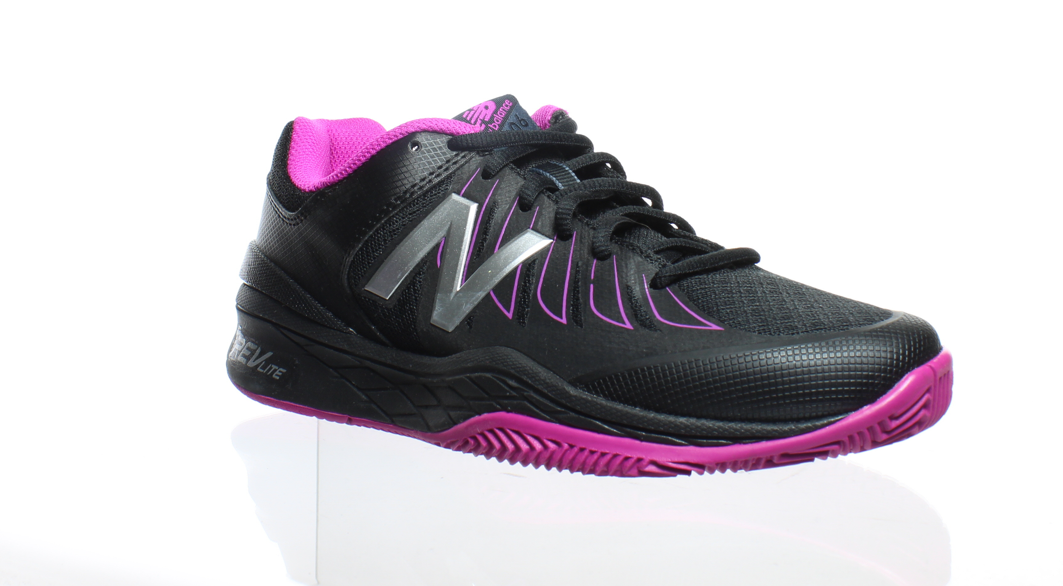 e24c7a948ee New Balance Womens Wc1006wr Black Pink Tennis Shoes Size 6.5 (AA