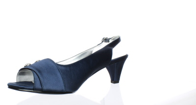 f2628d71f04 Details about New David Tate Womens Party-410 Navy Slingbacks Size 13  (C