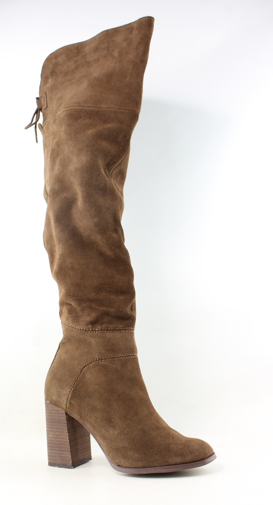 cf0f9ee8163 Steve Madden Womens Novela Tan Suede Fashion Boots Size 9.5 (122329 ...