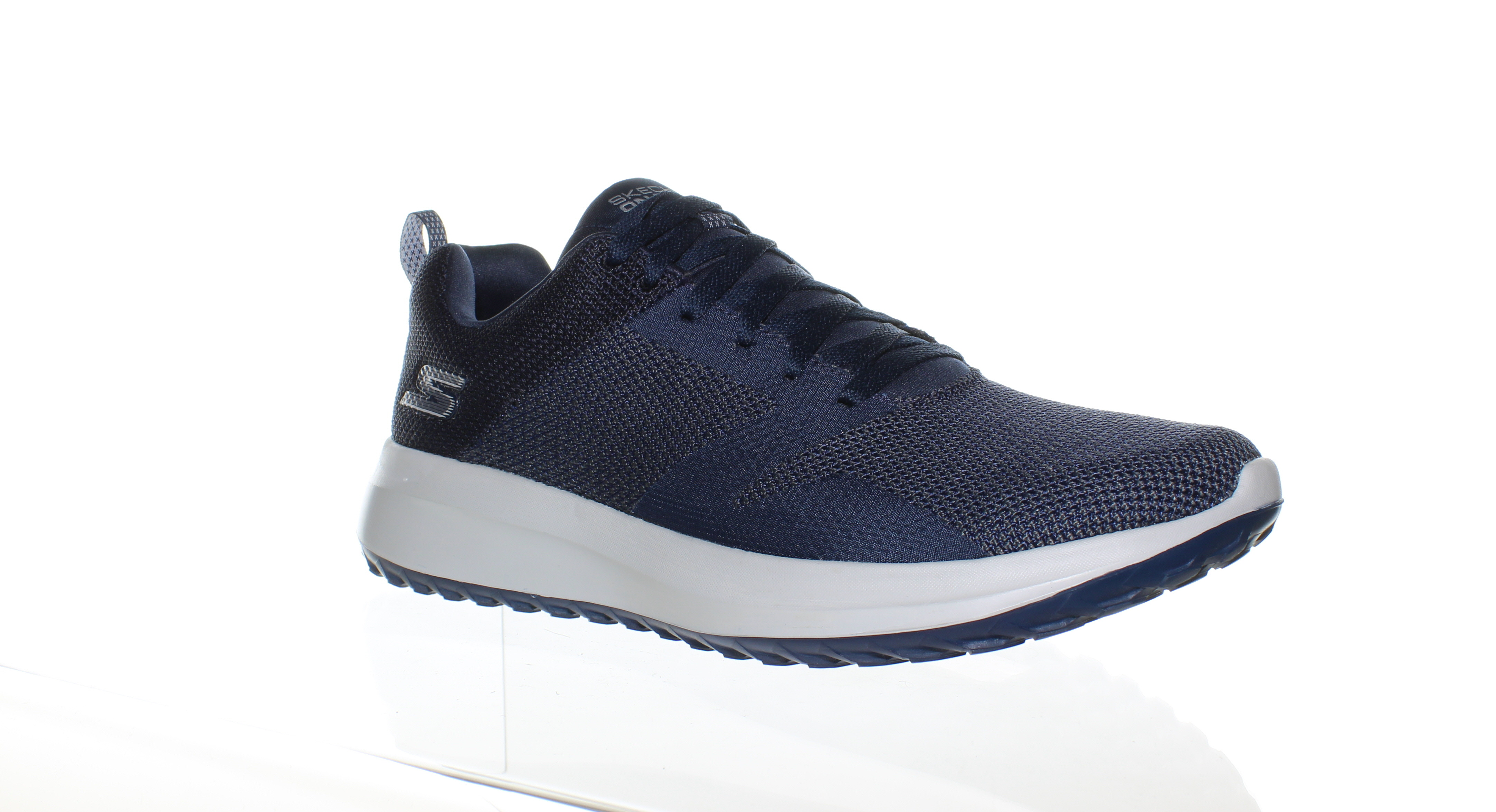 c98aeec91808 Skechers Mens On The Go City 4.0 Navy Gray Walking Shoes Size 9.5 ...