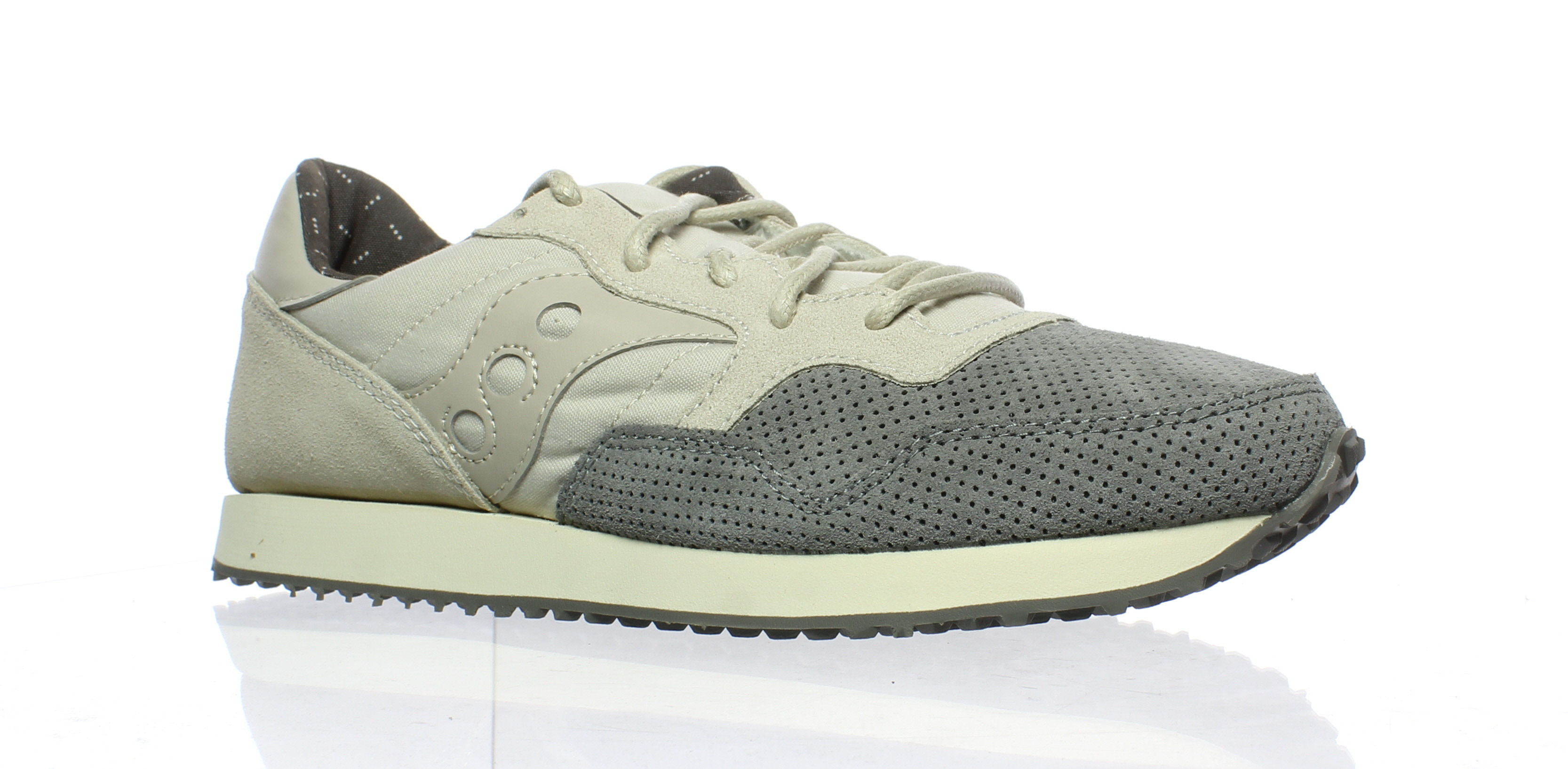 6b50d20d77cd New Saucony Womens Dxn Trainer Grey Running Shoes Size 11 ...
