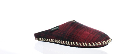 b9d97001f Woolrich Mens Fleece Mill Scuff Red Mule Slippers Size L (140592 ...