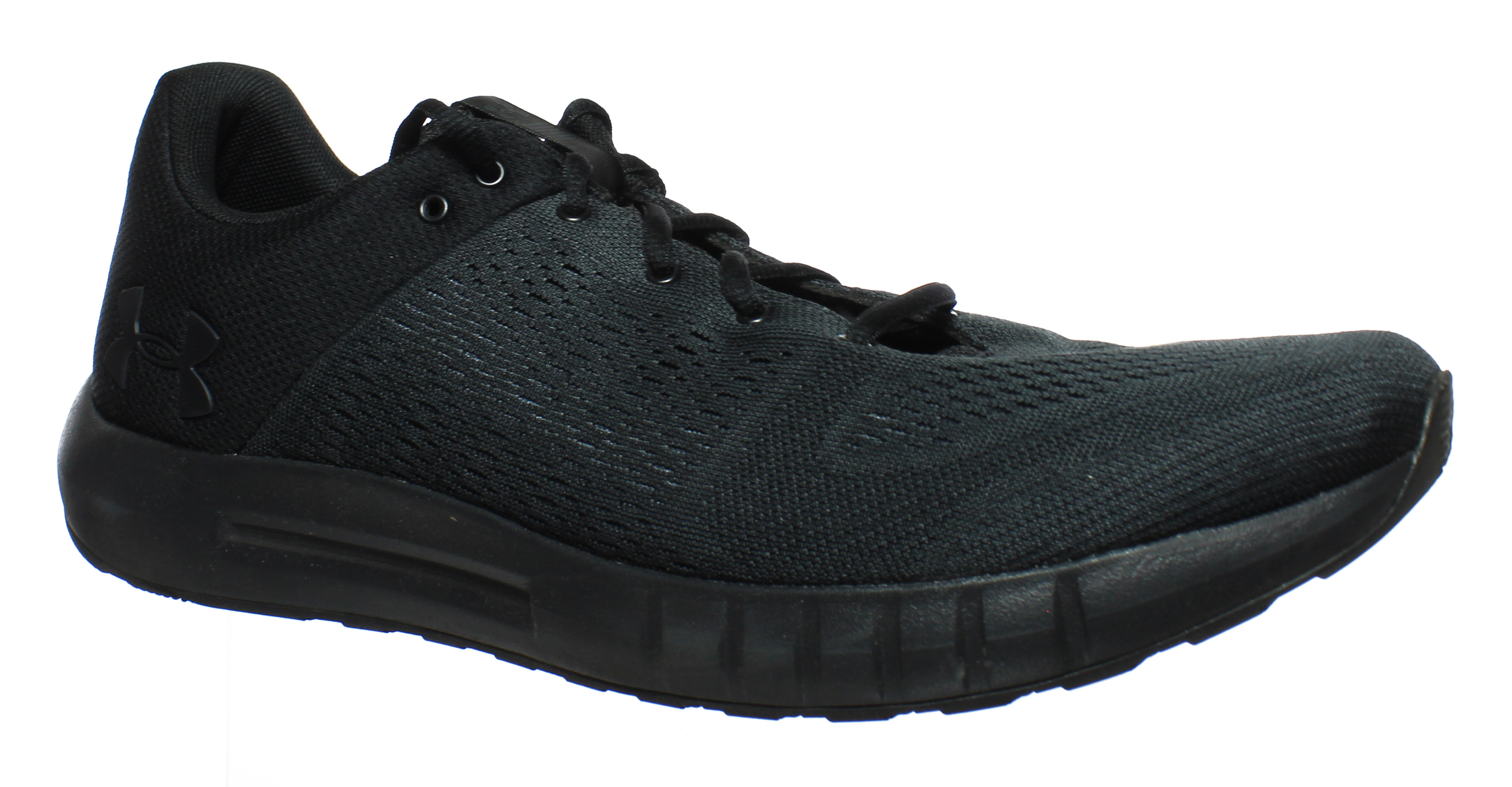 db64f5df4 Under Armour Armour Armour Mens Ua Micro G Pursuit Black Running Shoes Size  13 (14377) 6174dd