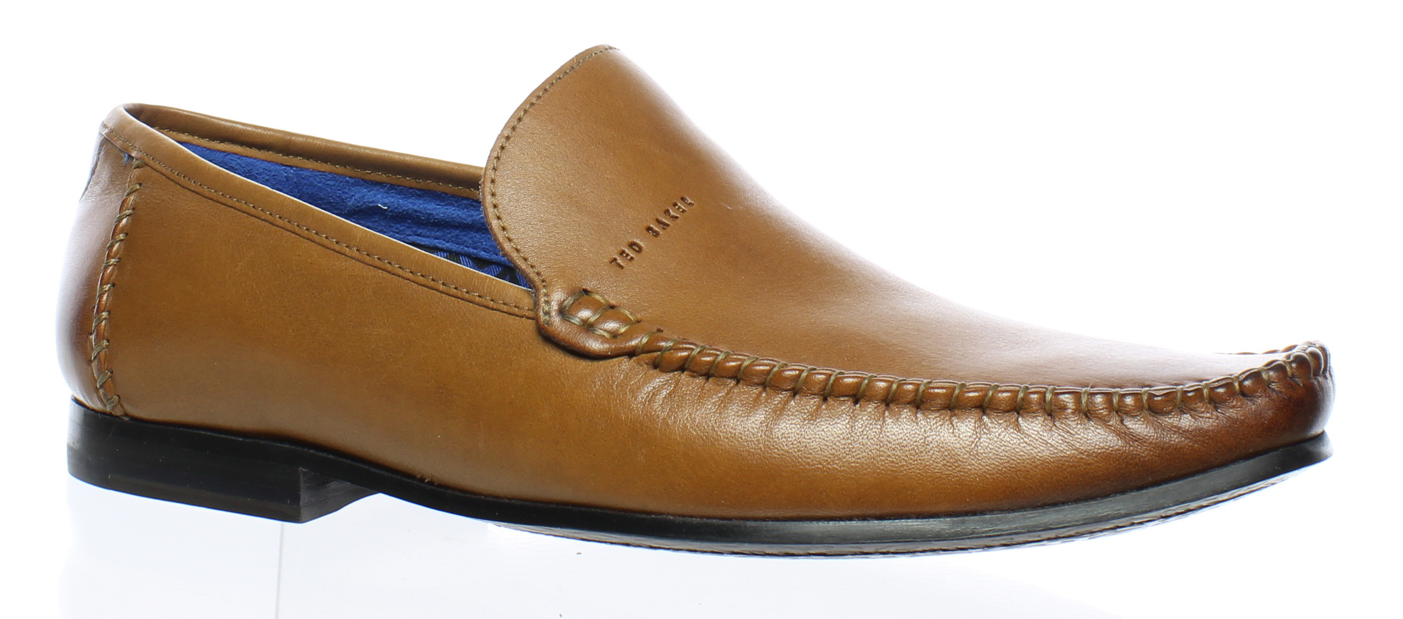 ff8439bce55f Ted Baker Mens 915078 Tan Loafers Size 7 (14779)