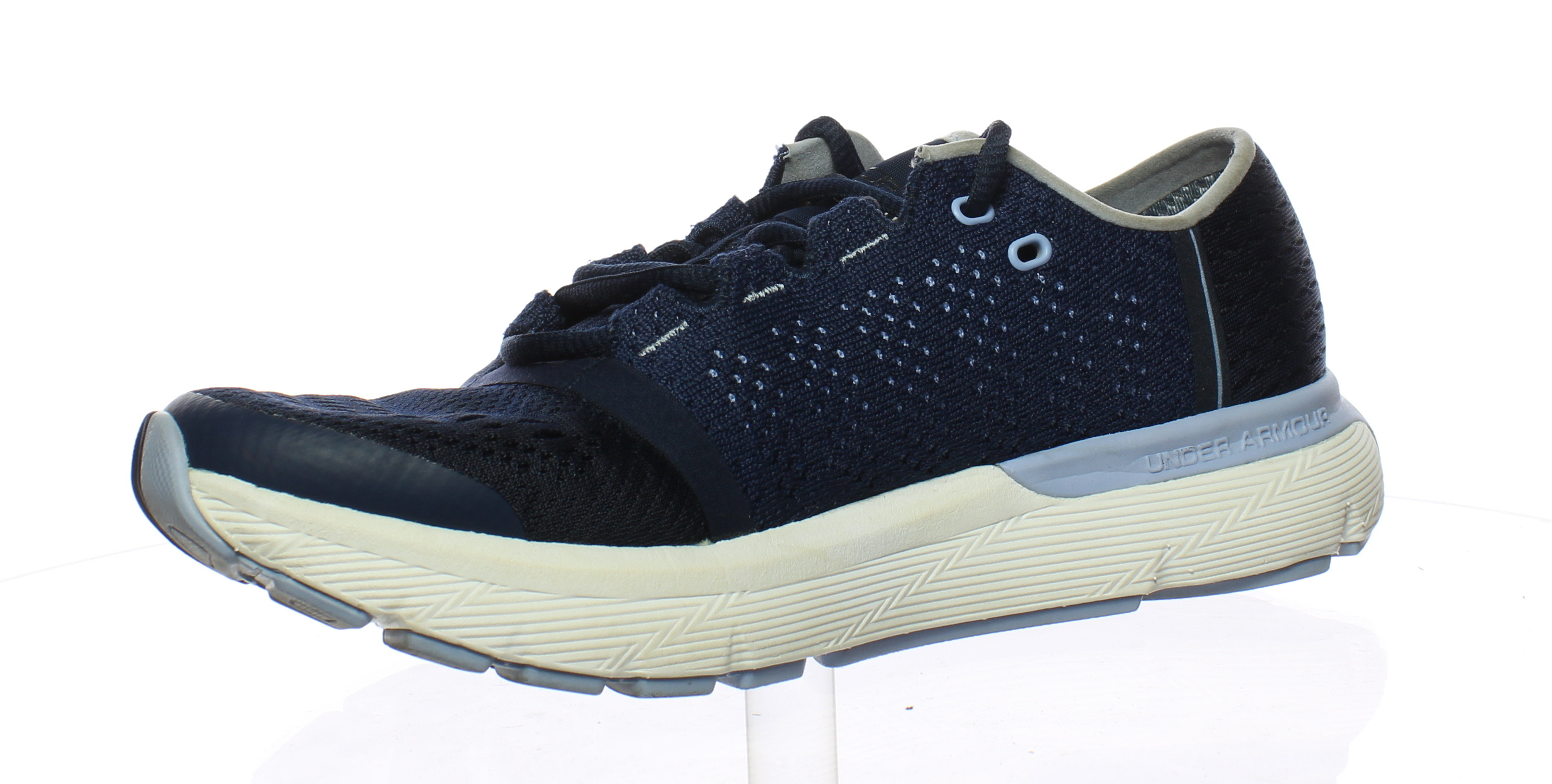 ... Picture 2 of 4  Picture 3 of 4  Picture 4 of 4. Under Armour Womens  Blue Running Shoes ... a252df7853