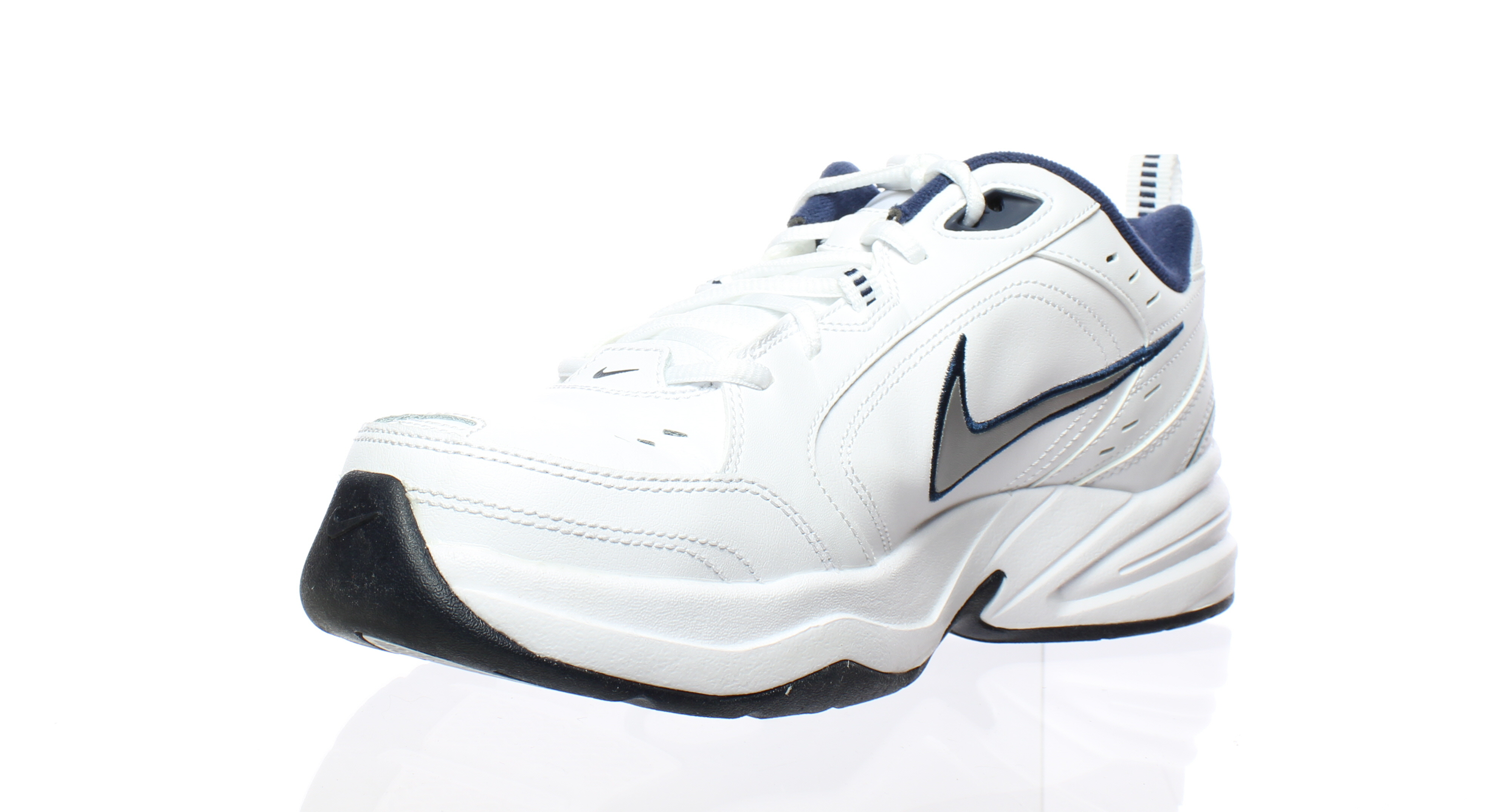 78a6a4c2e469 ... Nike Mens 415445 White White White Running Shoes Size 10 (16047) 6ae217  ...