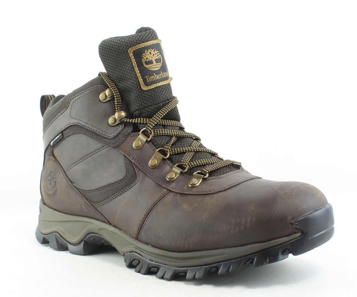 Timberland Mens Mt. Maddsen Brown Hiking Boots Size 13
