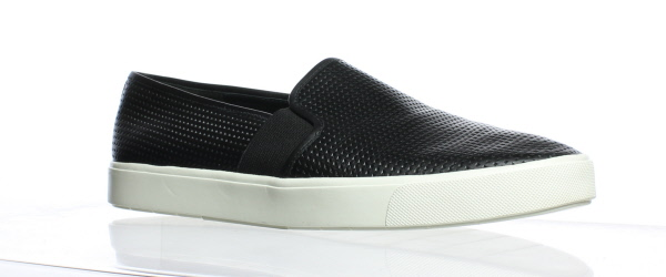 Generous Vince Womens Shoes Loafers Black Suede Upper White Soles Size 7.5 Casual Trendy Clothing, Shoes & Accessories