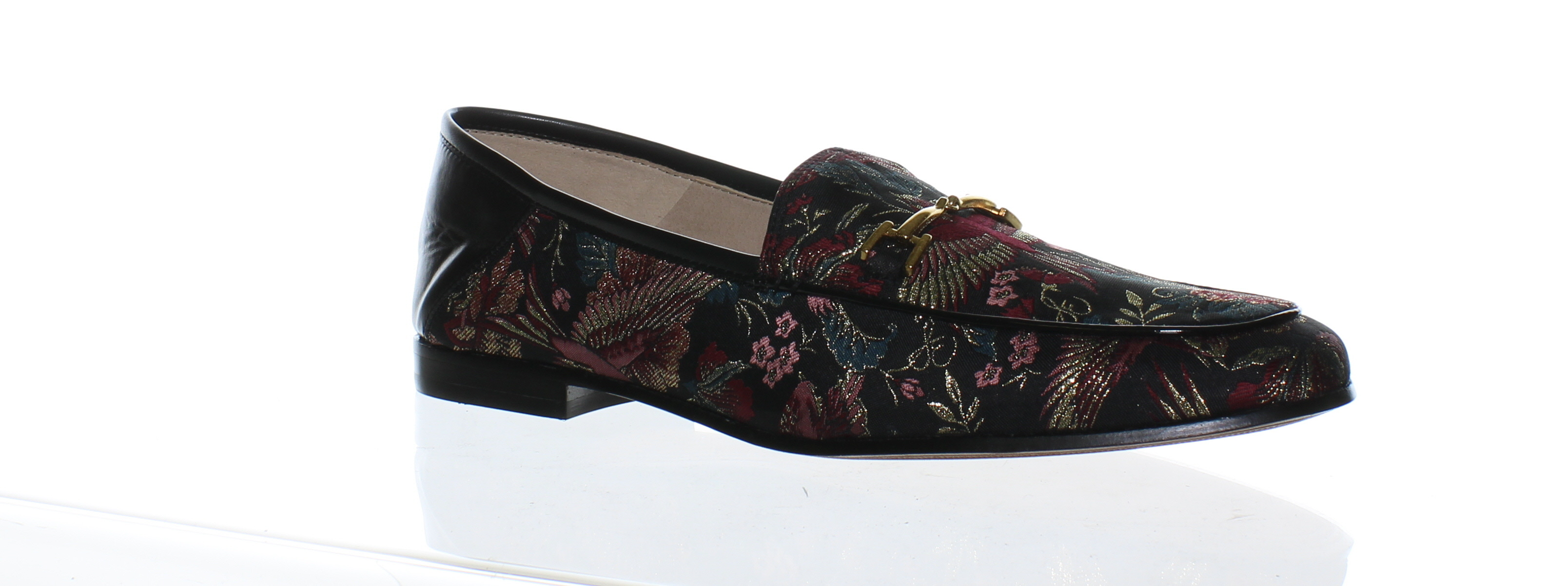 f8dbf8bf3a458 Details about Sam Edelman Womens Loraine Black Loafers Size 9 (165379)