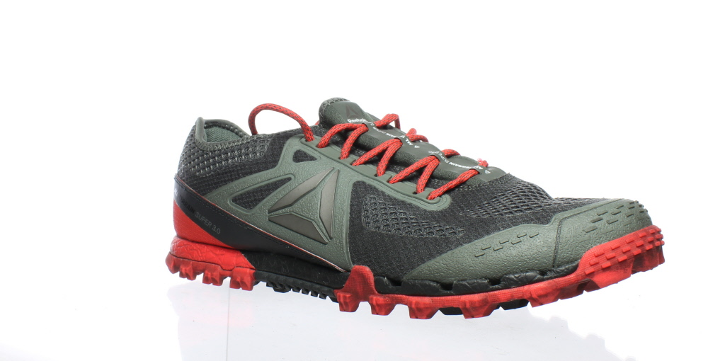 Reebok Mens All Terrain Super 3.0 Green Running Shoes Size 11 ... 276c124f129