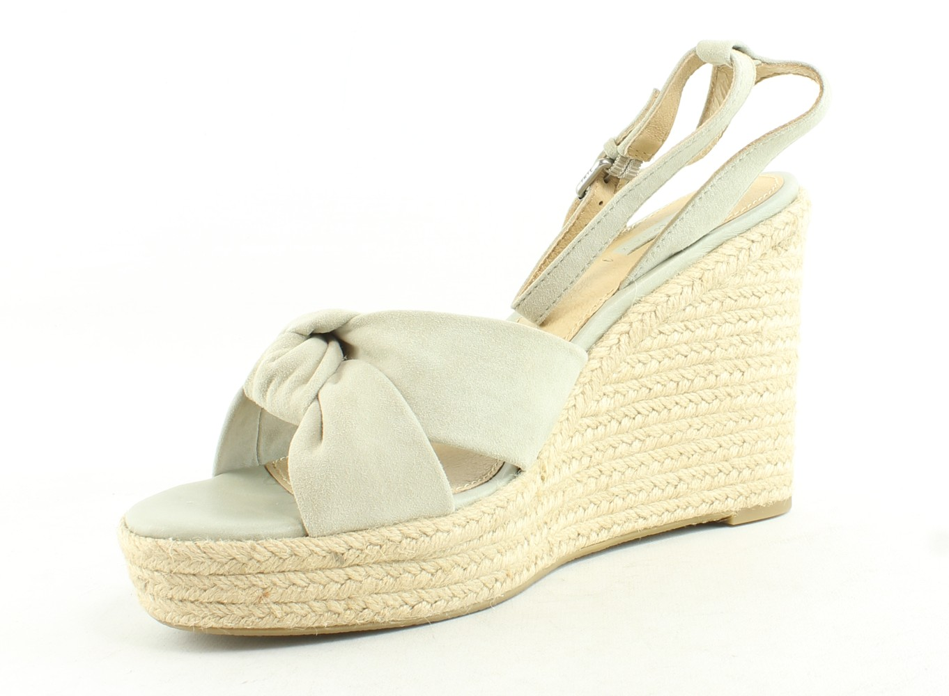 Frye-Womens-Charlotte-Twist-Suede-Leather-Ankle-Strap-Espadrille-Heels thumbnail 14
