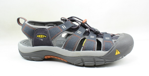 ca5b3925998b Details about KEEN Mens Newport H2 India Ink Rust Sport Sandals Size 11.5  (169997)