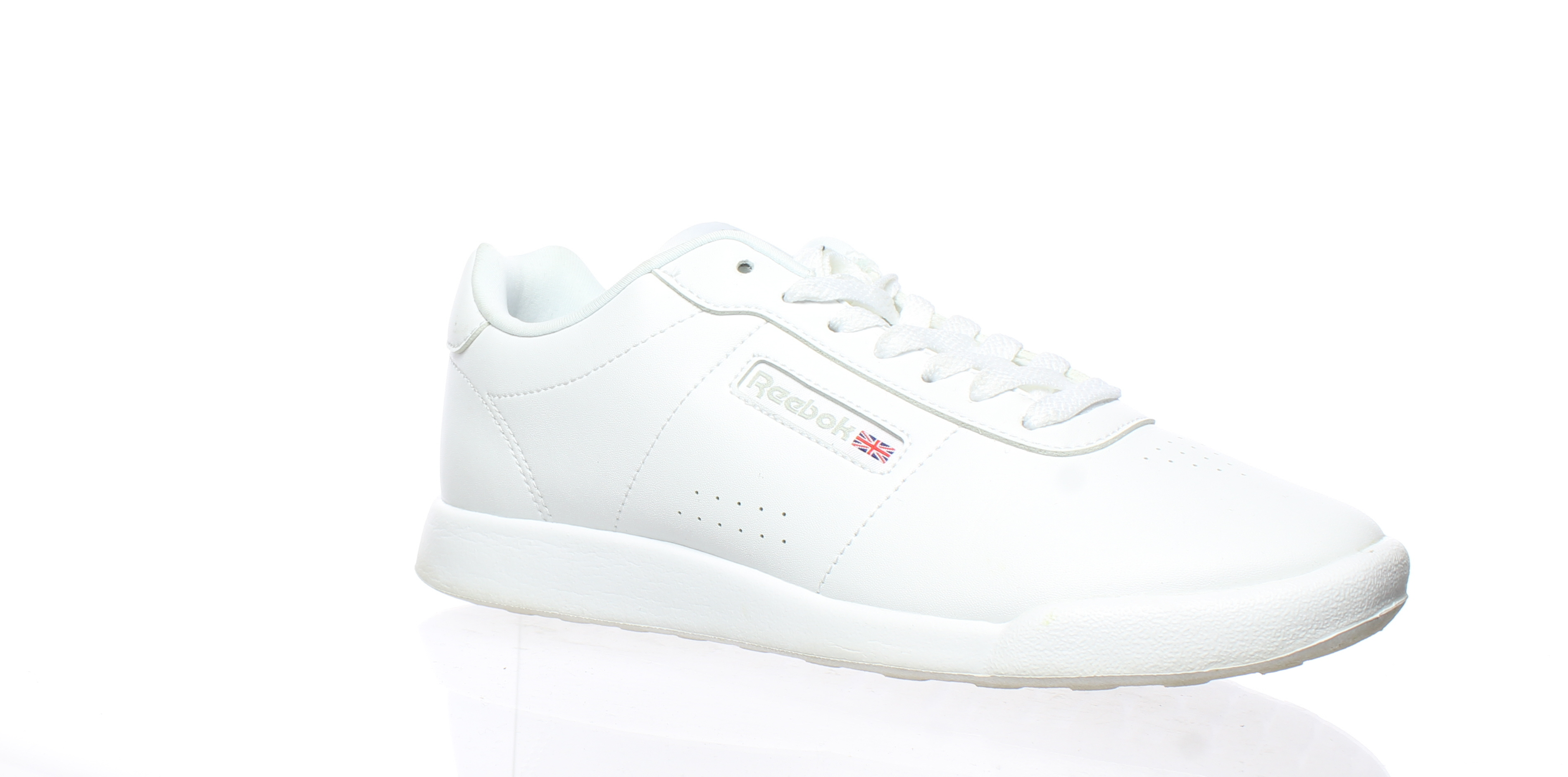 f3bd048b91e618 Details about Reebok Womens Princess Lite White Fashion Sneaker Size 7  (174041)