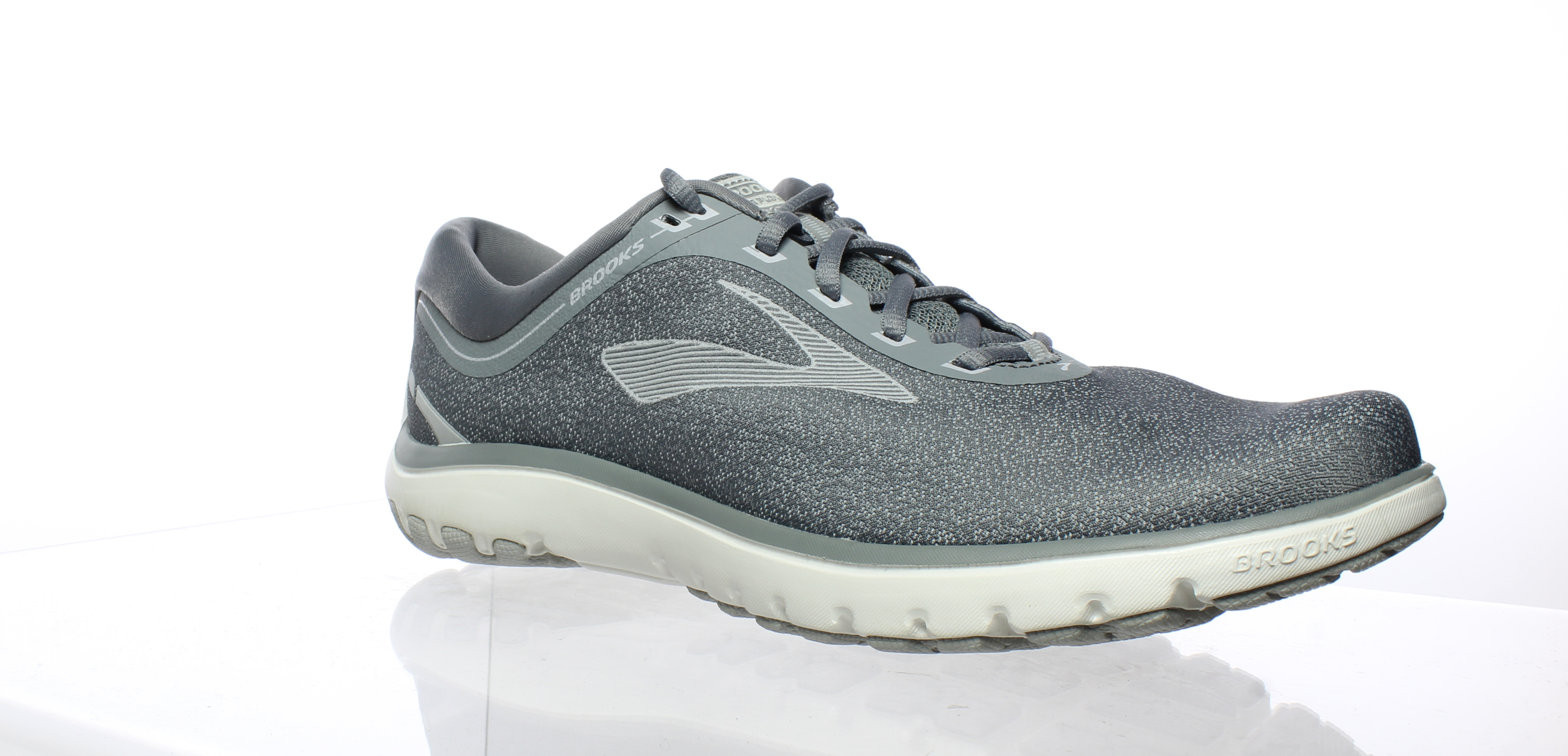 ede57adad50 Brooks Womens Pureflow 7 Gray Running Shoes Size 12 (176846 ...