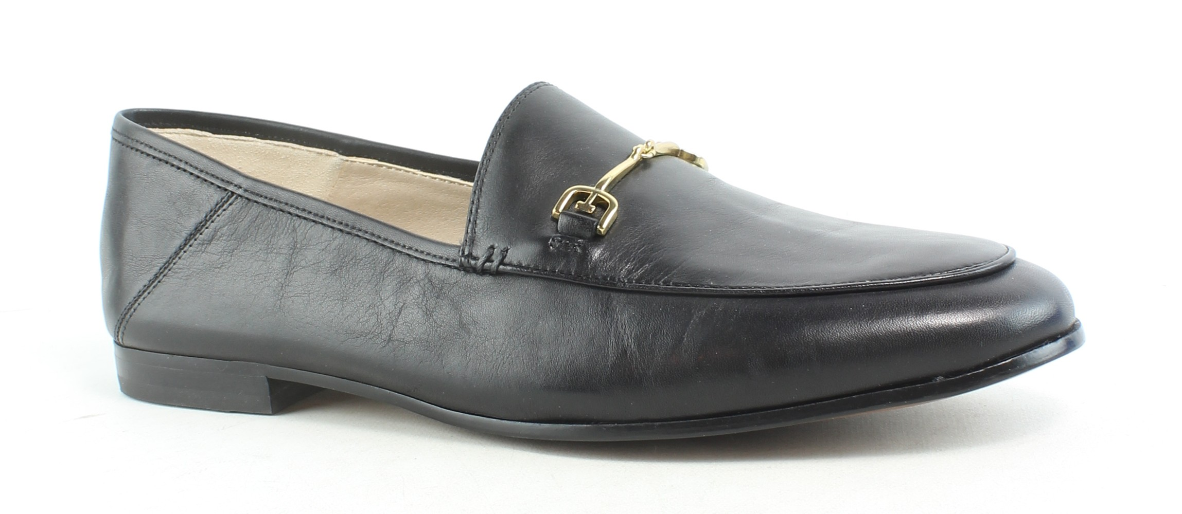90856a1b7fc Details about Sam Edelman Womens Loraine Black Leather Loafers Size 9.5  (177483)