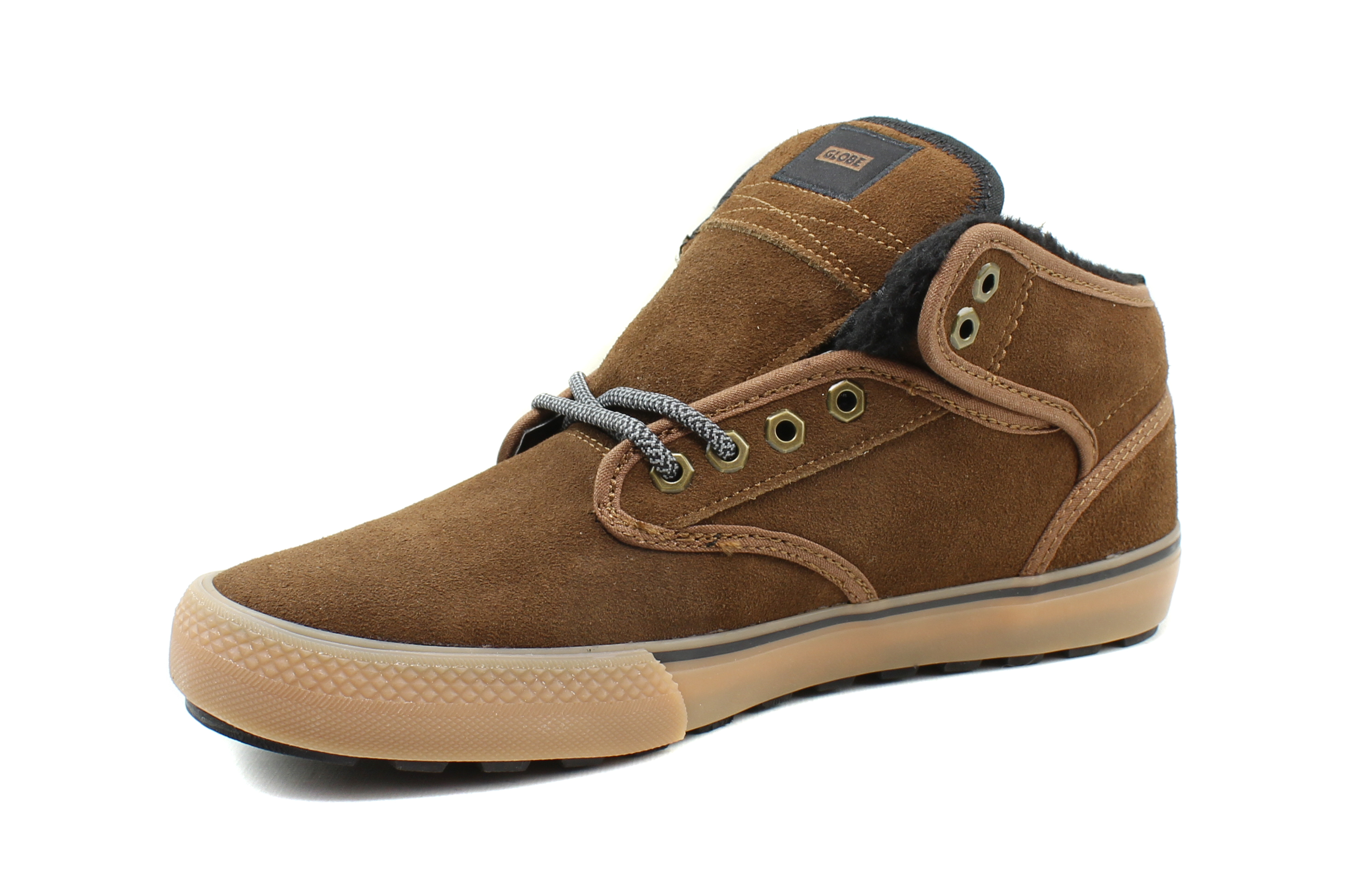 Globe-Mens-Motley-Mid-Skateboarding-Insulated-Leather-Casual-Shoes thumbnail 10