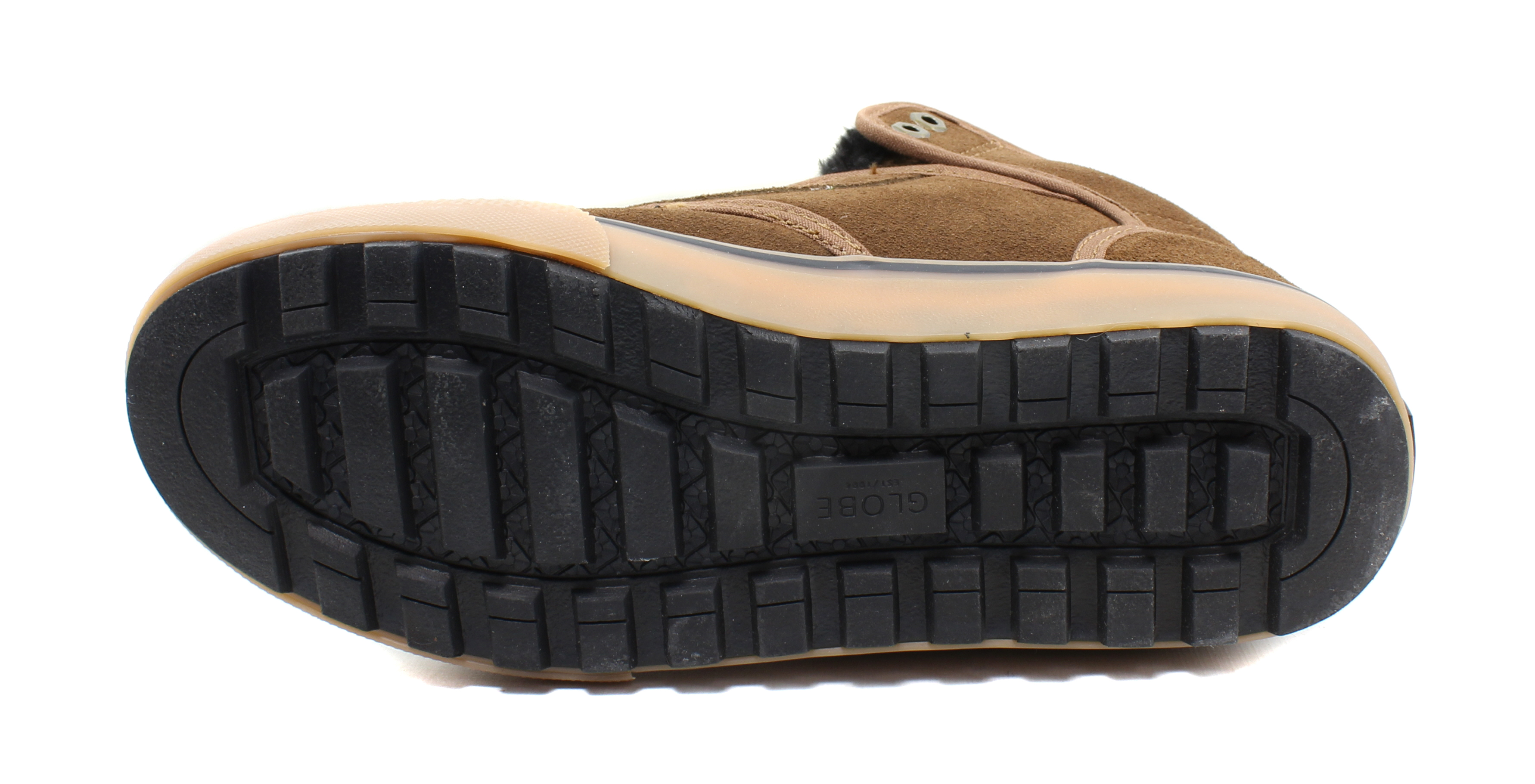 Globe-Mens-Motley-Mid-Skateboarding-Insulated-Leather-Casual-Shoes thumbnail 12