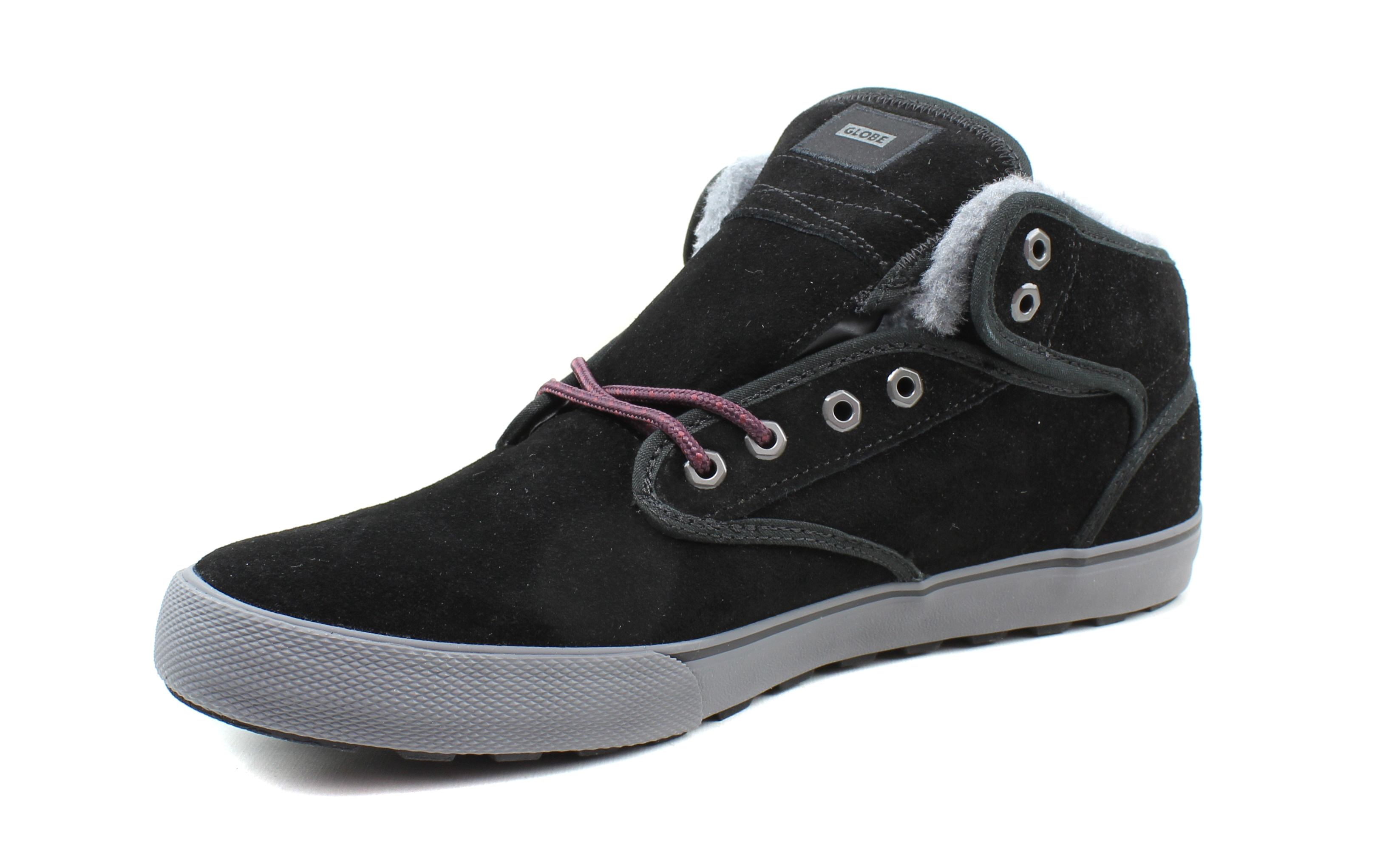 Globe-Mens-Motley-Mid-Skateboarding-Insulated-Leather-Casual-Shoes thumbnail 6