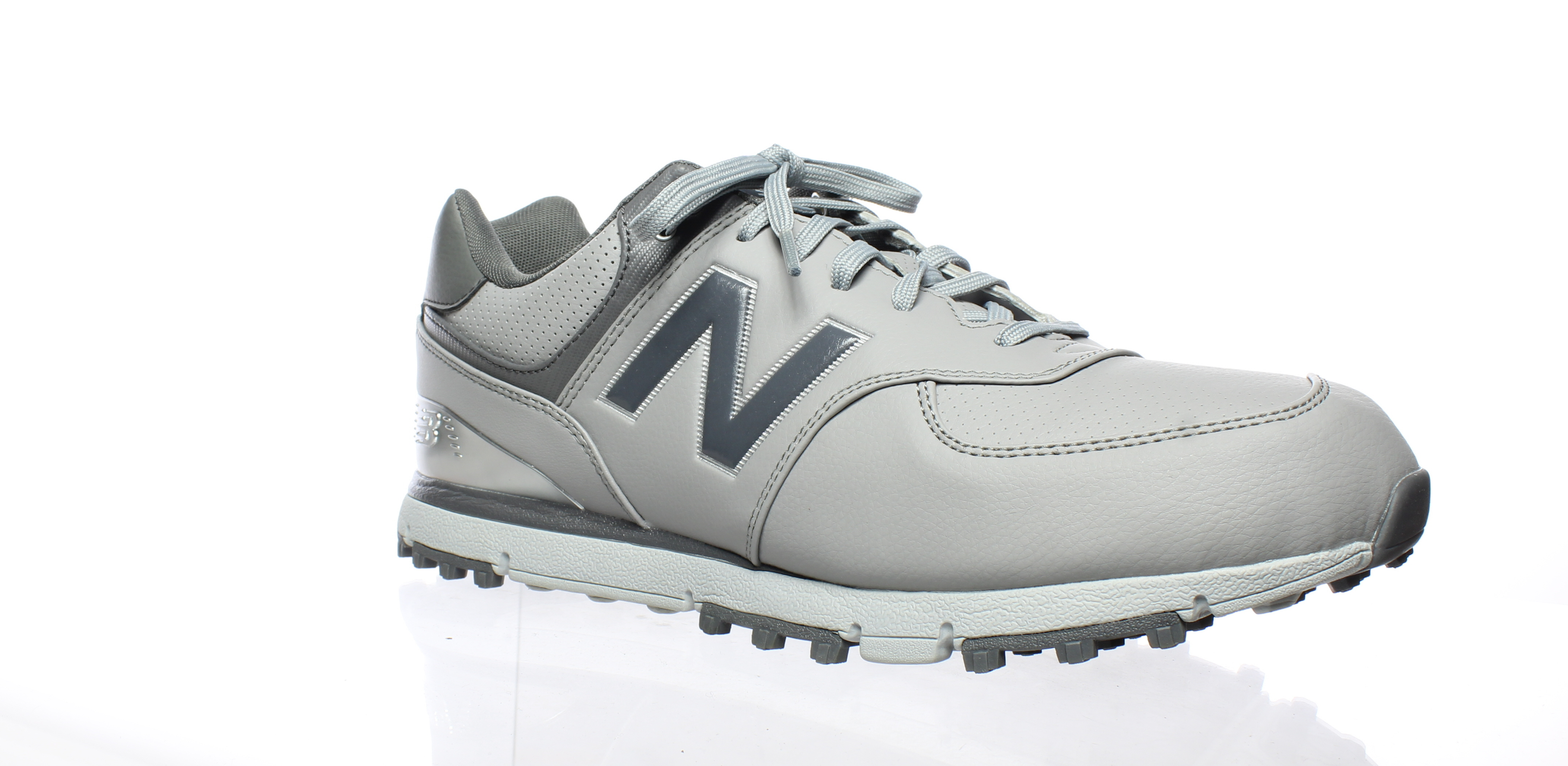 51d1038029a5 New Balance Mens Nbg574grs Grey Silver Golf Shoes Size 9.5 (2E ...