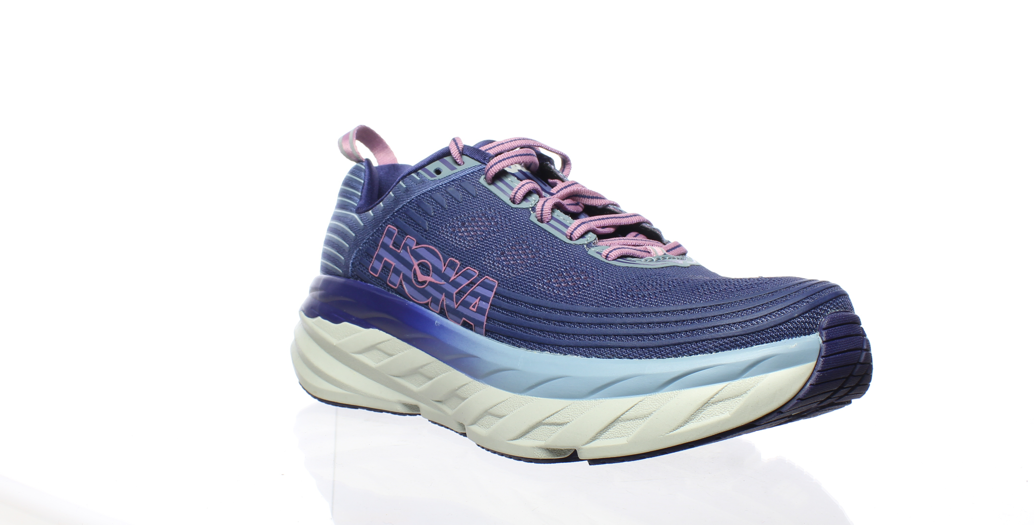 045bc50298ac42 Details about Hoka One One Womens Bondi 6 Purple Running Shoes Size 7  (182842)