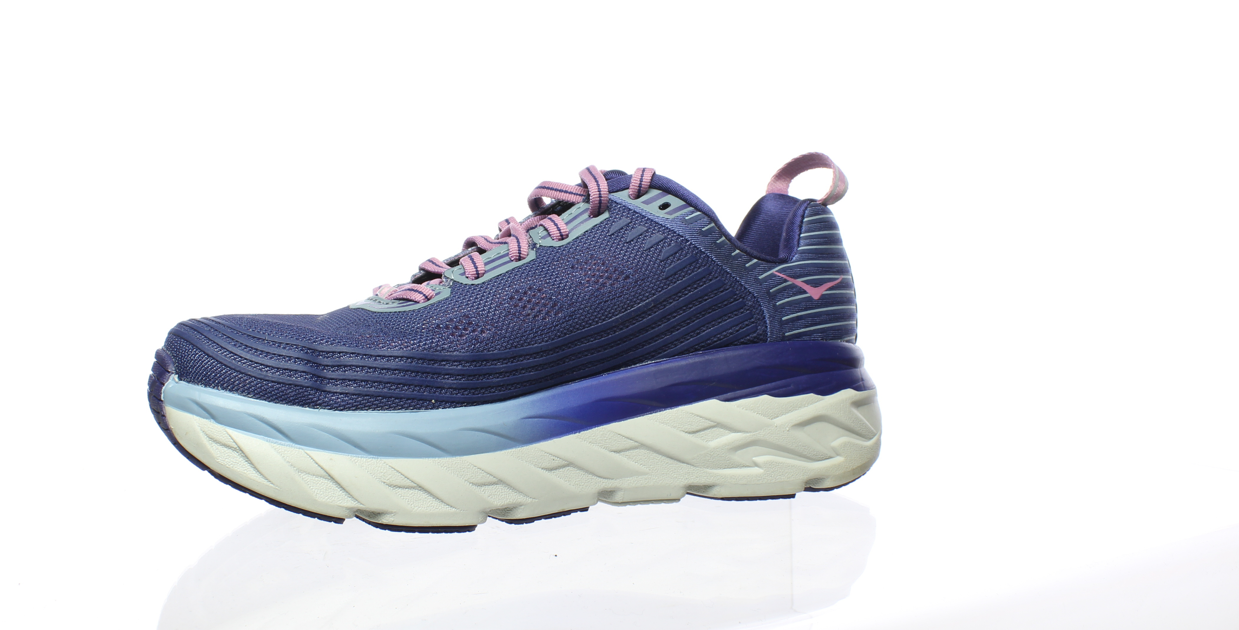 eb1c6abe243eaa Hoka One One Womens Bondi 6 Purple Running Shoes Size 7 (182842 ...