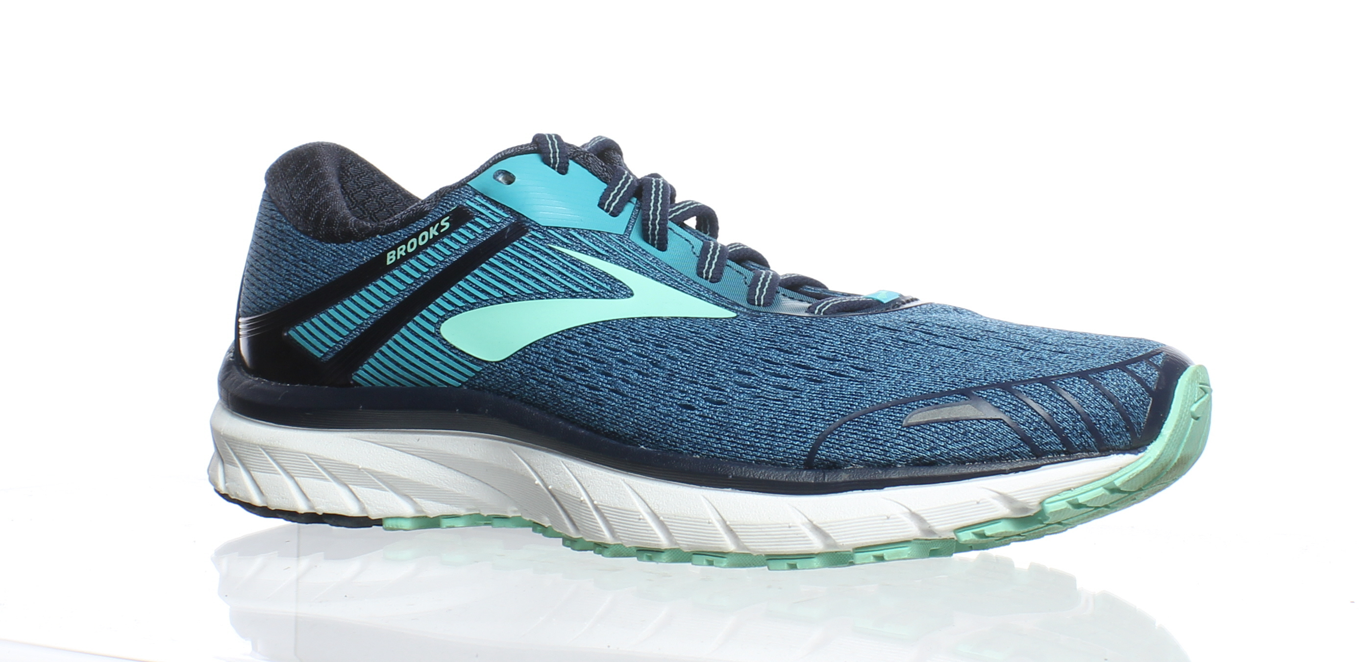 Details about Brooks Womens Adrenaline Gts 18 Navy Teal Mint Running Shoes  Size 8.5 (183171) ecaf91c21a0