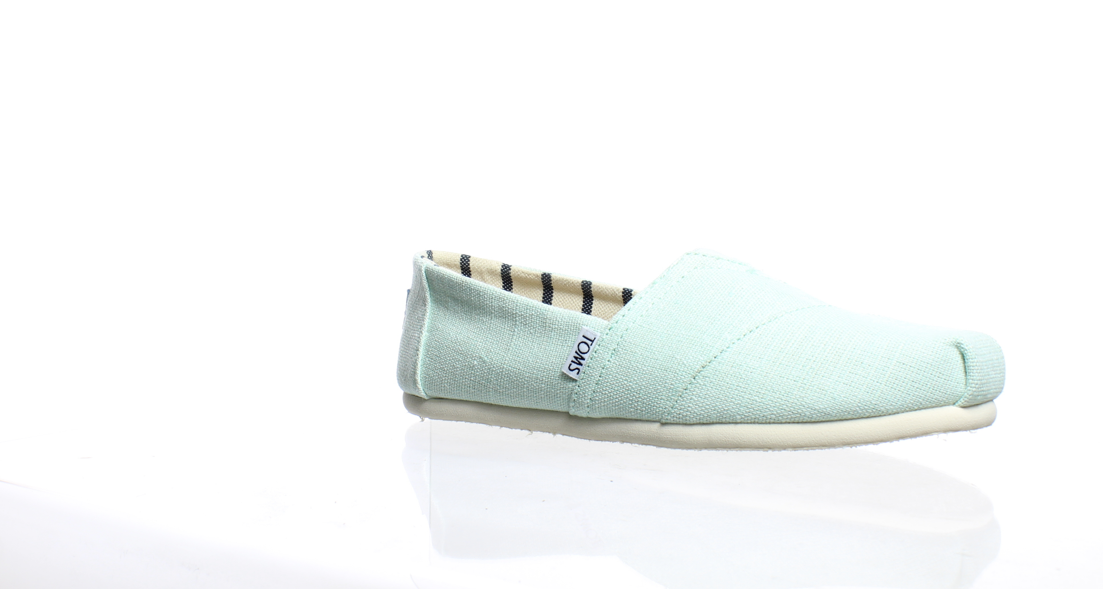 d2417668071 Details about TOMS Womens Classic Green Casual Flats Size 9.5 (185128)