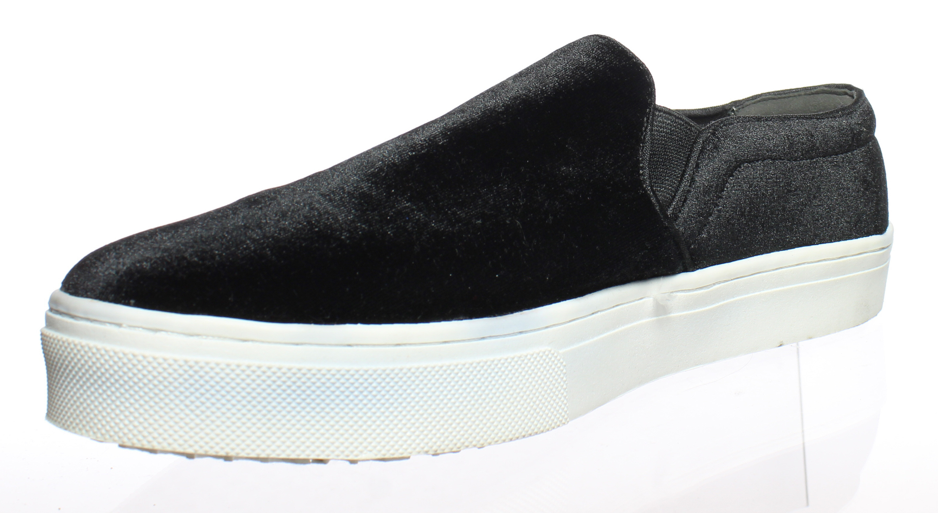 21e6fbf0b0ac Sam Edelman Womens Lacey Fashion Sneaker Black Velvet 10 M US. Be the first  to write a review. About this product. Picture 1 of 4  Picture 2 of 4 ...