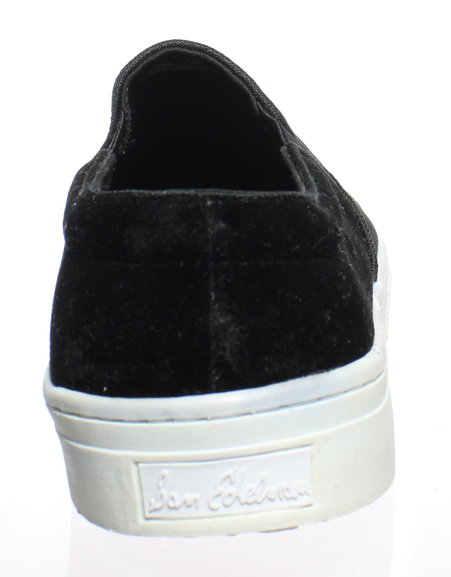 359ac0e9112d ... Picture 3 of 4  Picture 4 of 4. Sam Edelman Womens Lacey Black Velvet  Loafers Size 10 ...