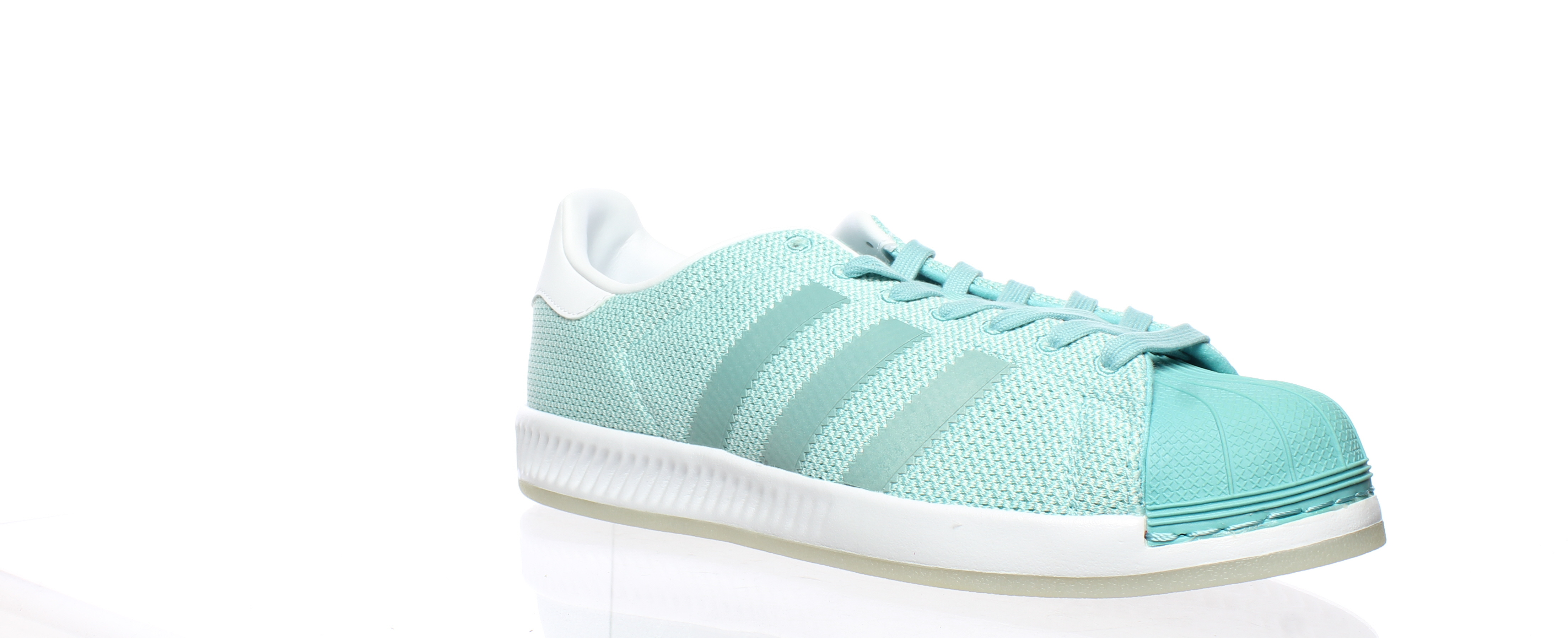 competitive price 3ba75 43e86 Adidas WOMENS Superstar Bounce Green Size 10 (187455)
