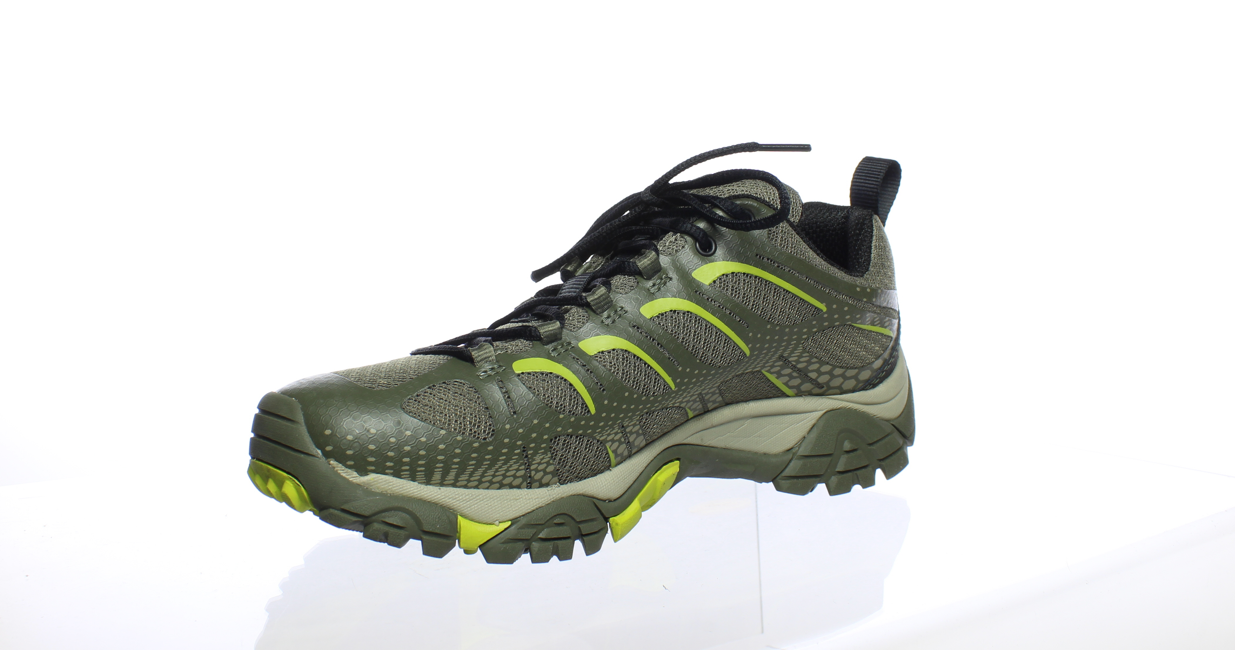 7037bd98f9c Merrell Mens Moab Edge Dusty Olive Hiking Shoes Size 8.5 (193039) 2 2 of 4  ...
