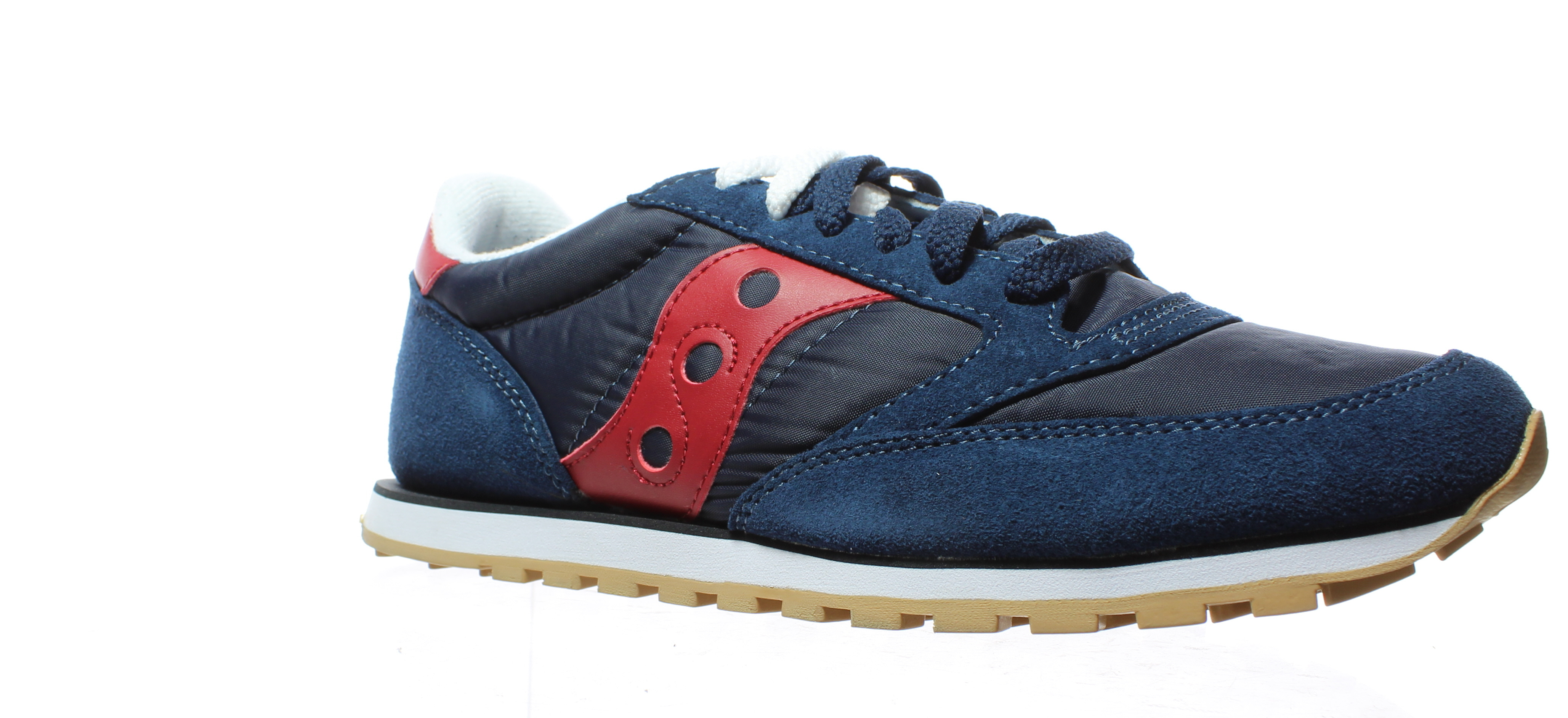 34a7ccc8ca Details about Saucony Mens Jazz Low Pro Navy   Red Running Shoes Size 9.5  (194481)