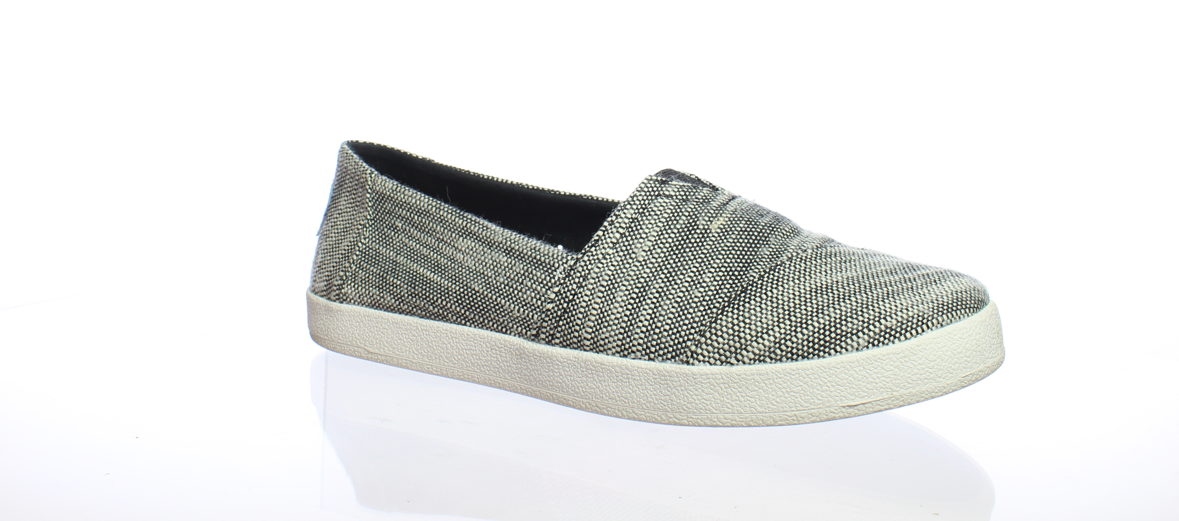 ac8c4b3e817d TOMS Womens Avalon Black Casual Flats Size 6.5