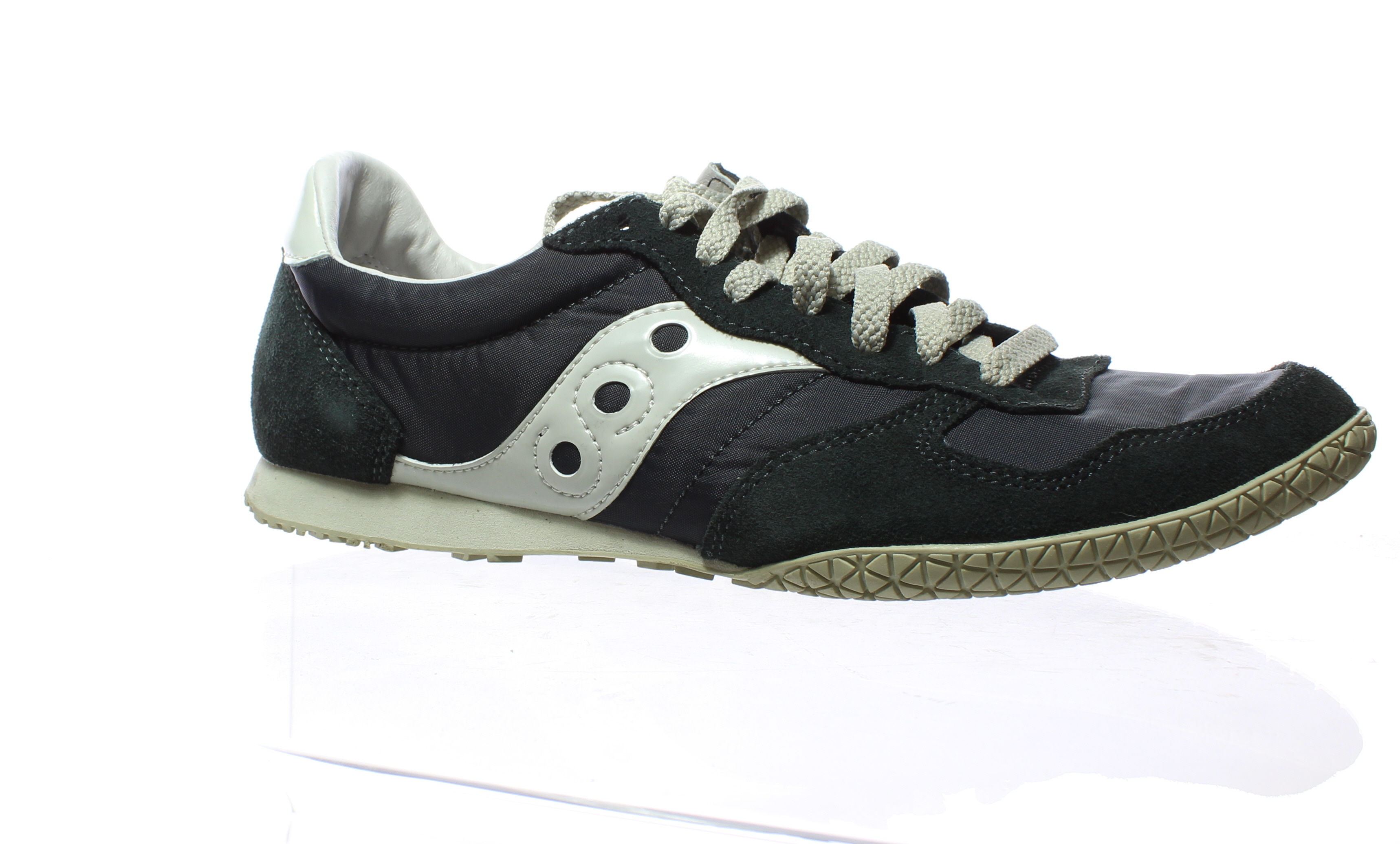 96c7e5afda09 Details about Saucony Mens Bullet Navy Gray Running Shoes Size 9 (210331)