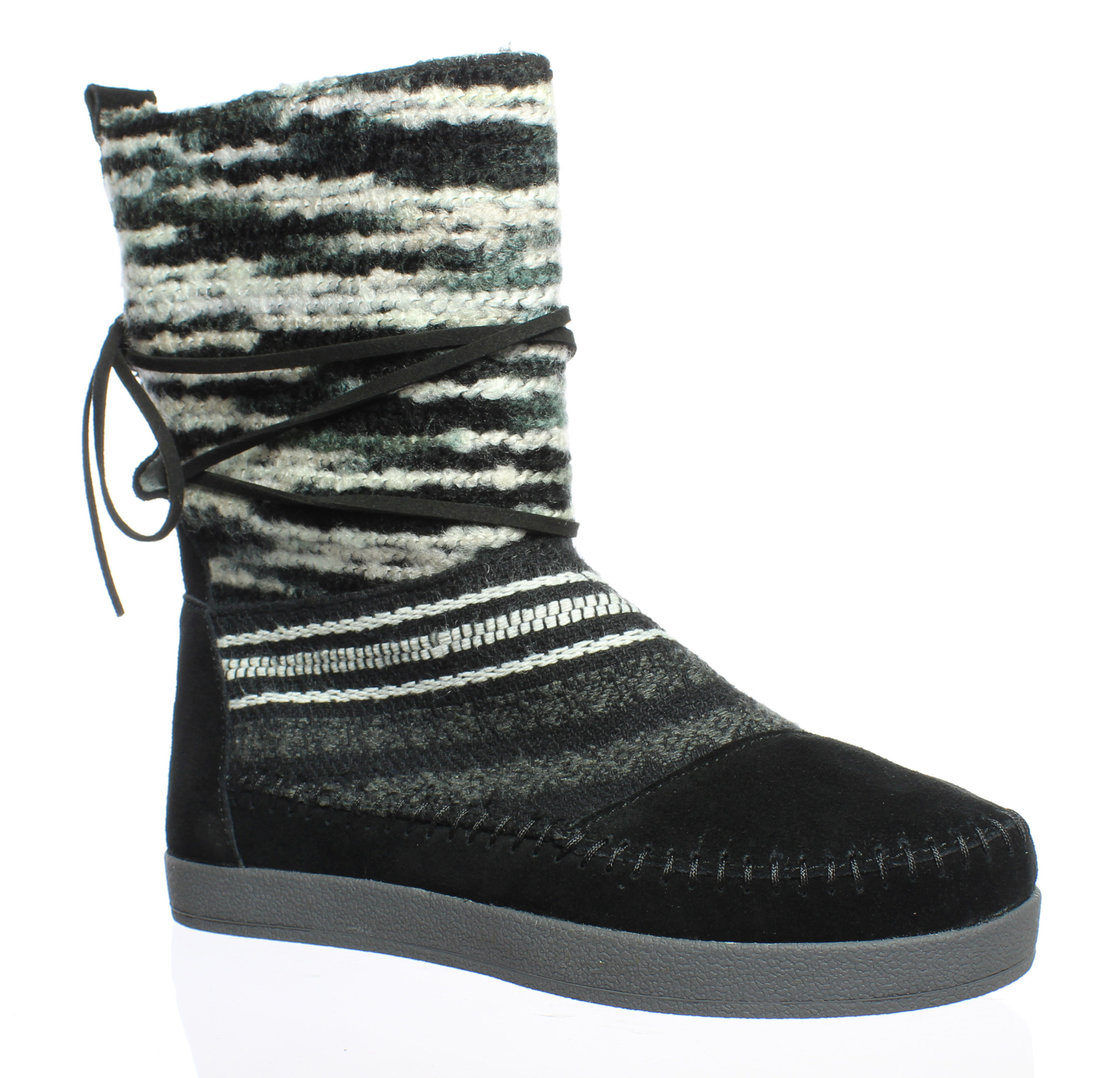 fede66ddbb1 TOMS Womens Nepal Black Ankle Boots Size 5 886468922159