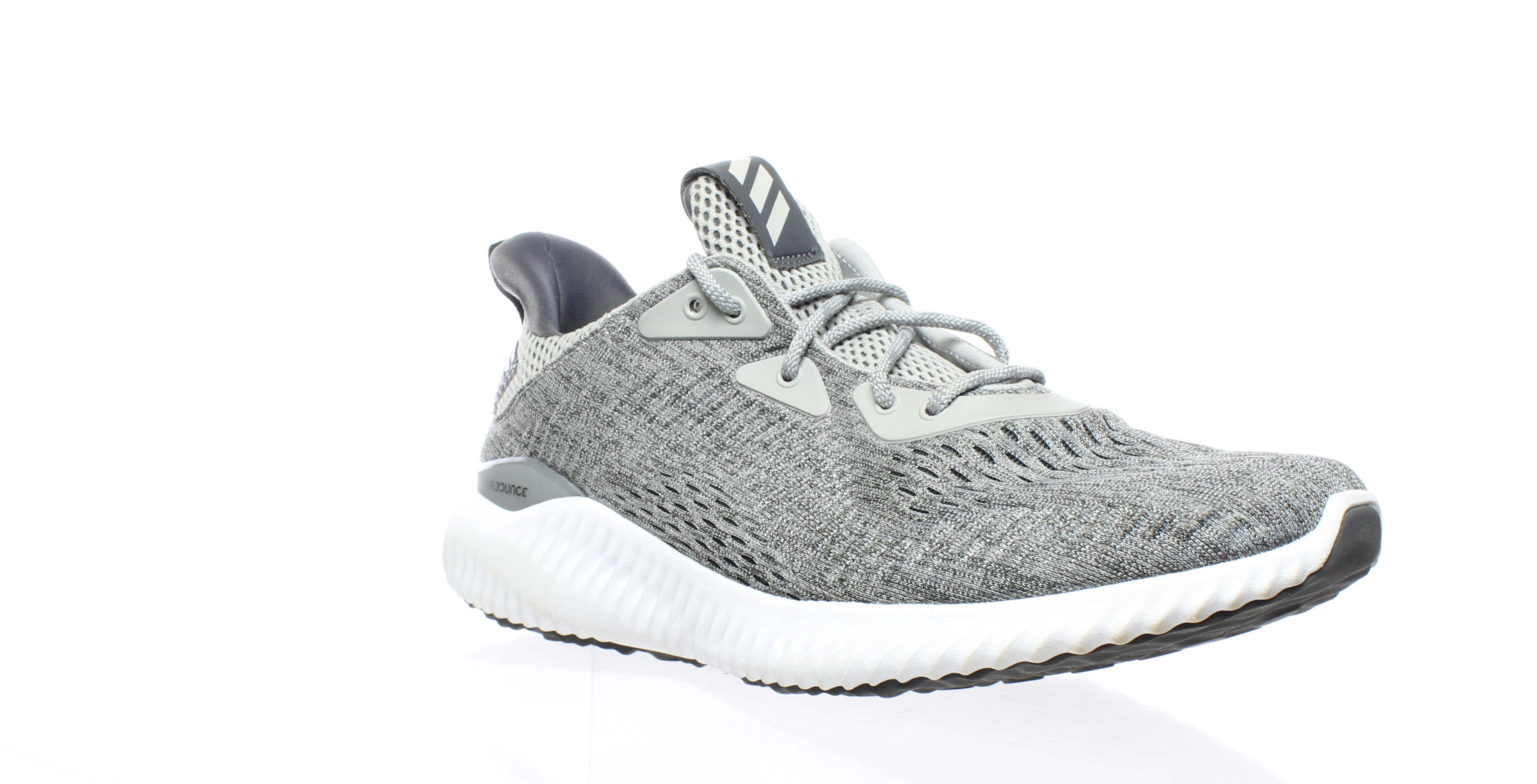 3d8d3defe Adidas Womens Alphabounce Em Gray Running Shoes Size 9.5 (212010)