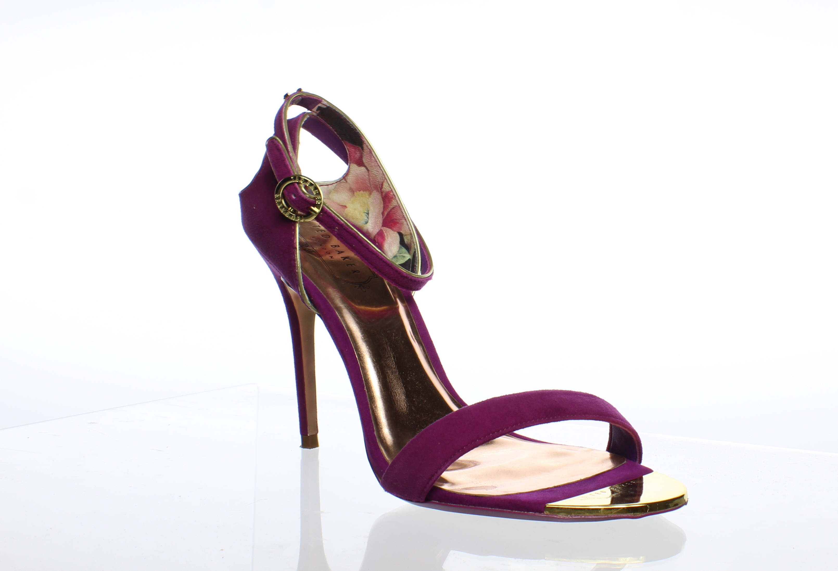88fa1f0a0 Ted Baker Womens Mirobell Pink Ankle Strap Heels Size 8.5 (213519 ...