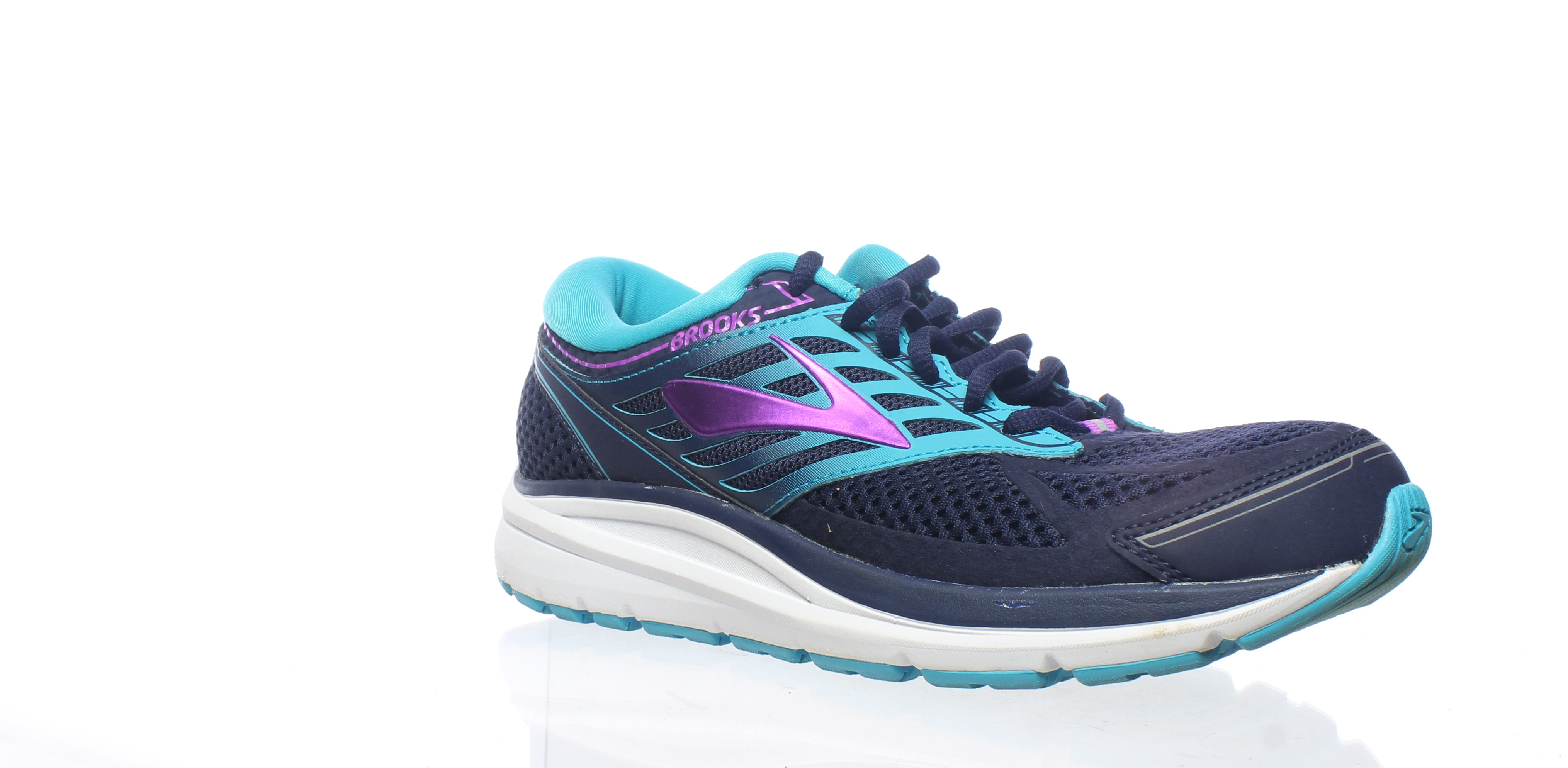 220097a1055 Details about Brooks Womens Addiction 13 Blue Running Shoes Size 9 (225154)
