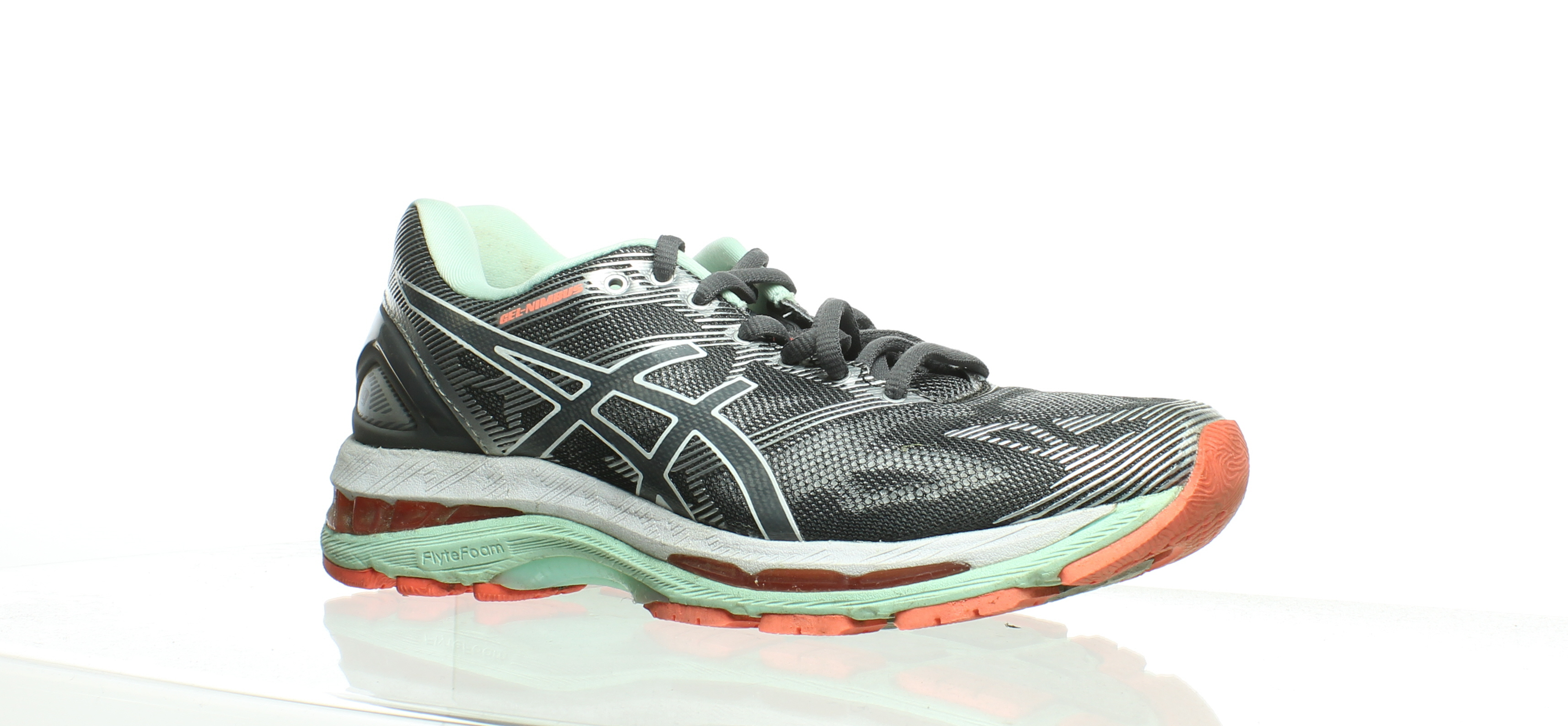 Asics About Womens Gray Shoes Size Running Details 8231617 19 Gel Nimbus qpSUzMV