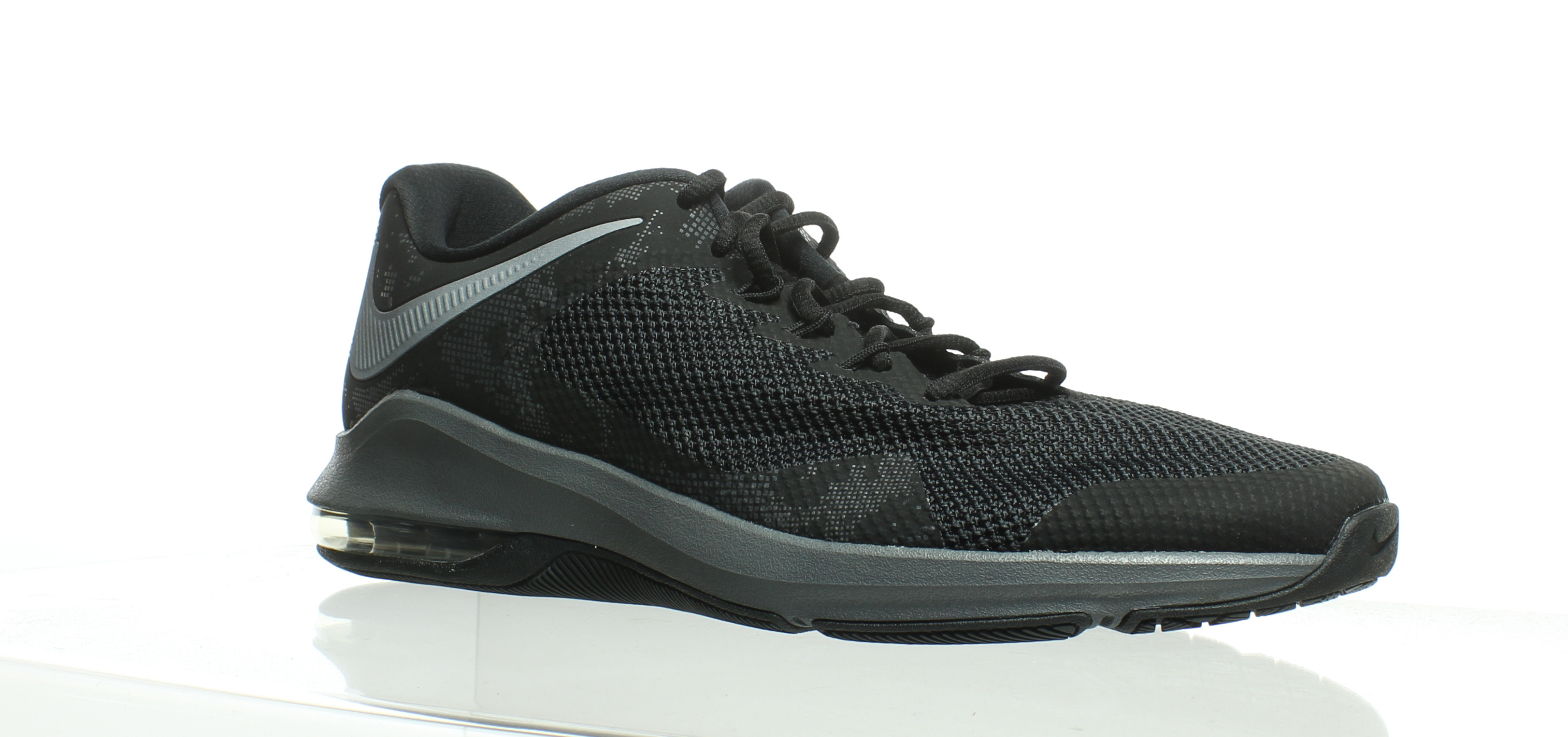best website fb93f 4fcfe Details about Nike Womens Air Max Alpha Trainer Black Cross Training Shoes  Size 11 (232397)