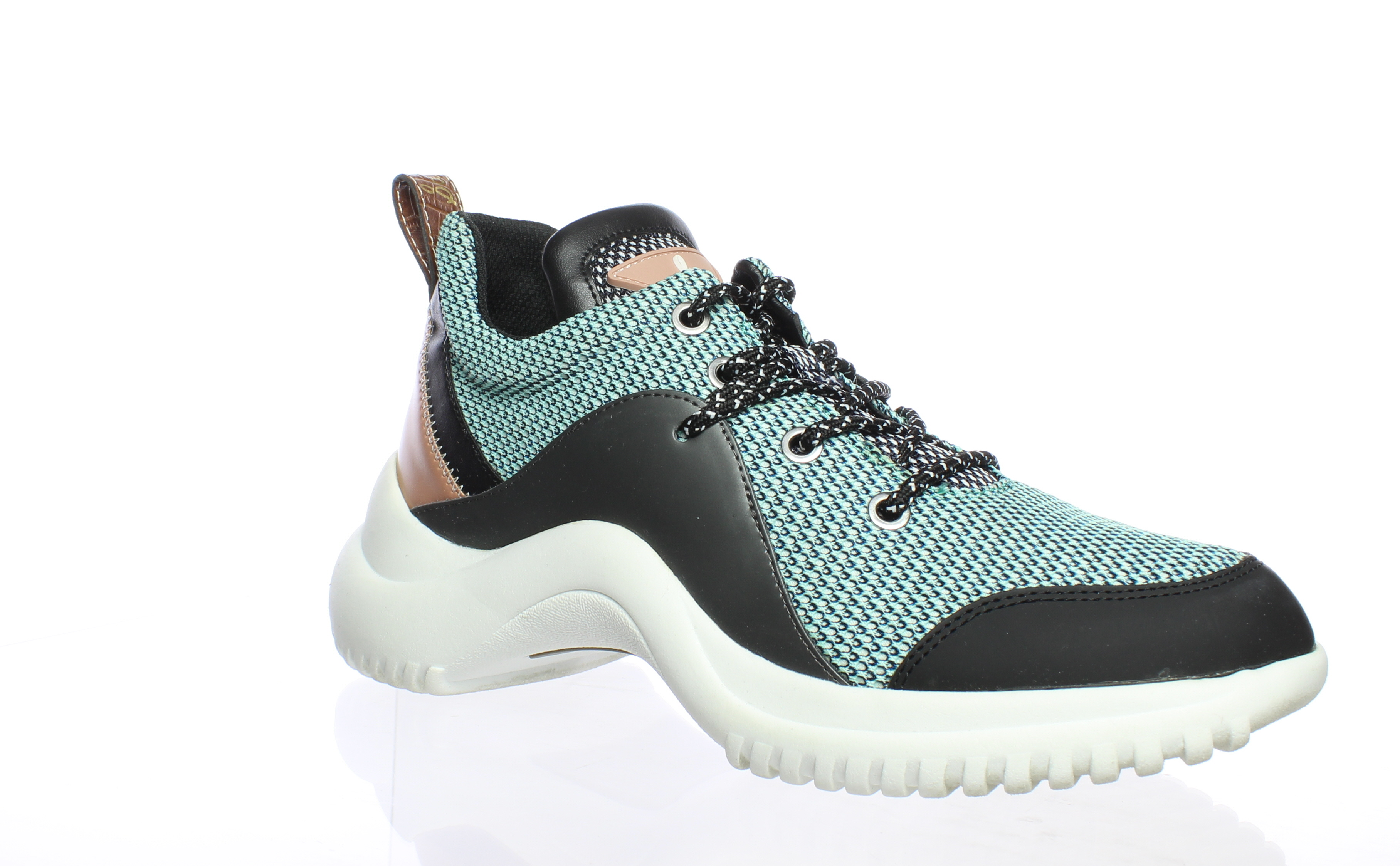 81526eb6119f Sam Edelman Womens Meena Mint Multi Fashion Sneaker Size 7.5 ...