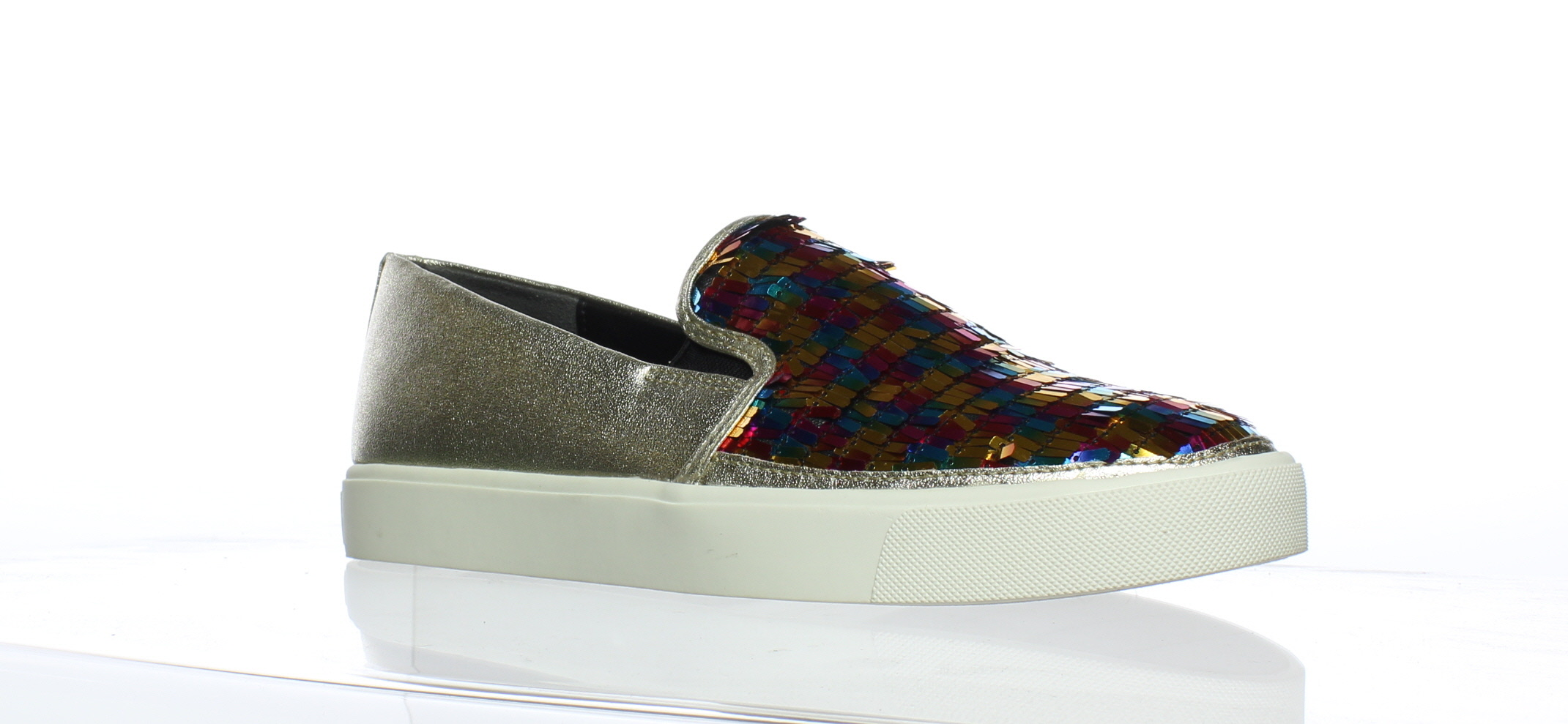4f361cf93295 Image is loading Sam-Edelman-Womens-Elton-Multi-Color-Loafers-Size-